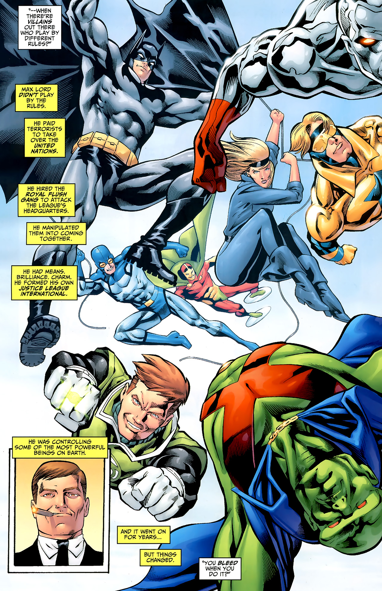 Read online Justice League: Generation Lost comic -  Issue #20 - 12