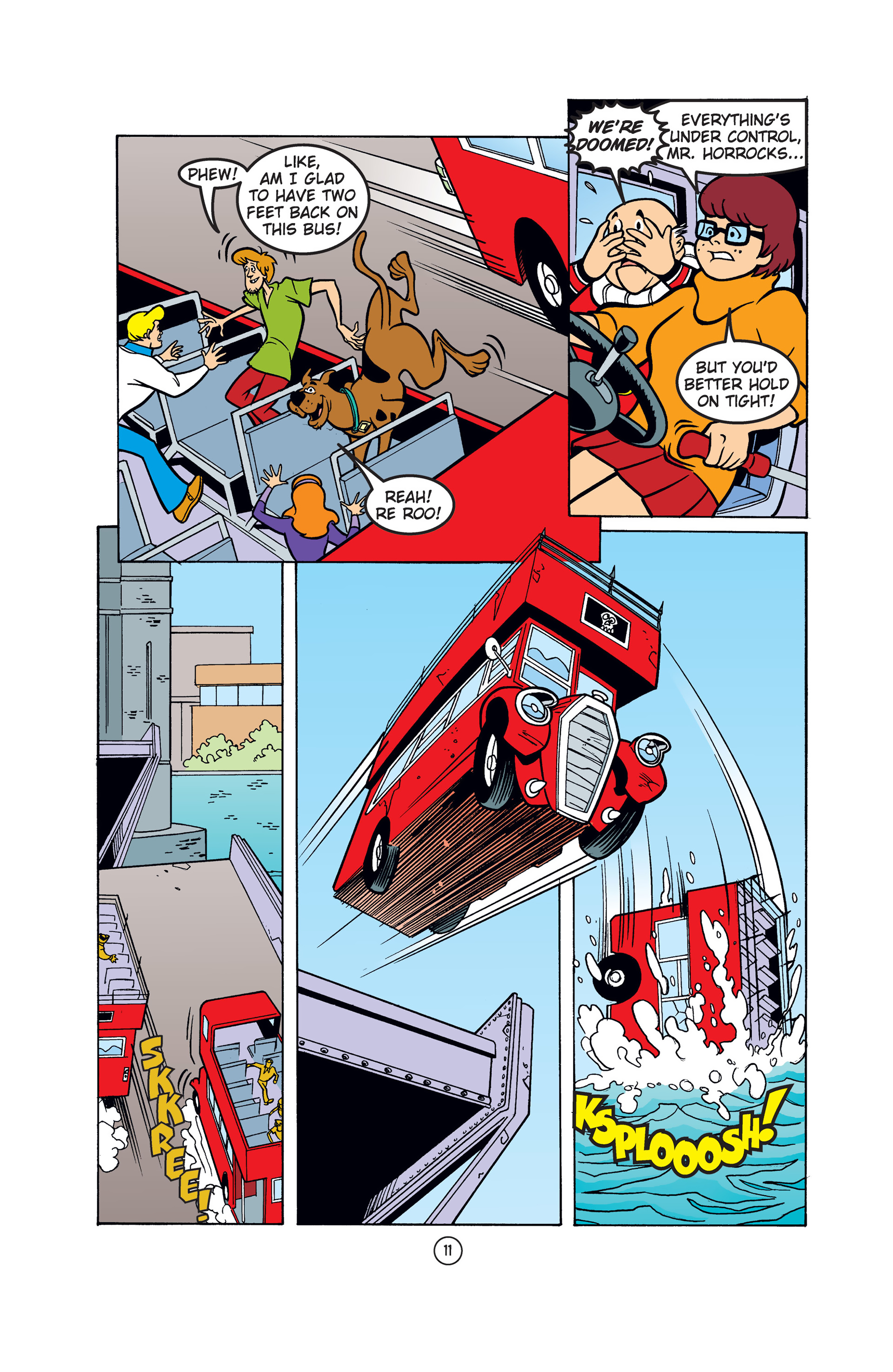 Read online Scooby-Doo: Where Are You? comic -  Issue #52 - 22