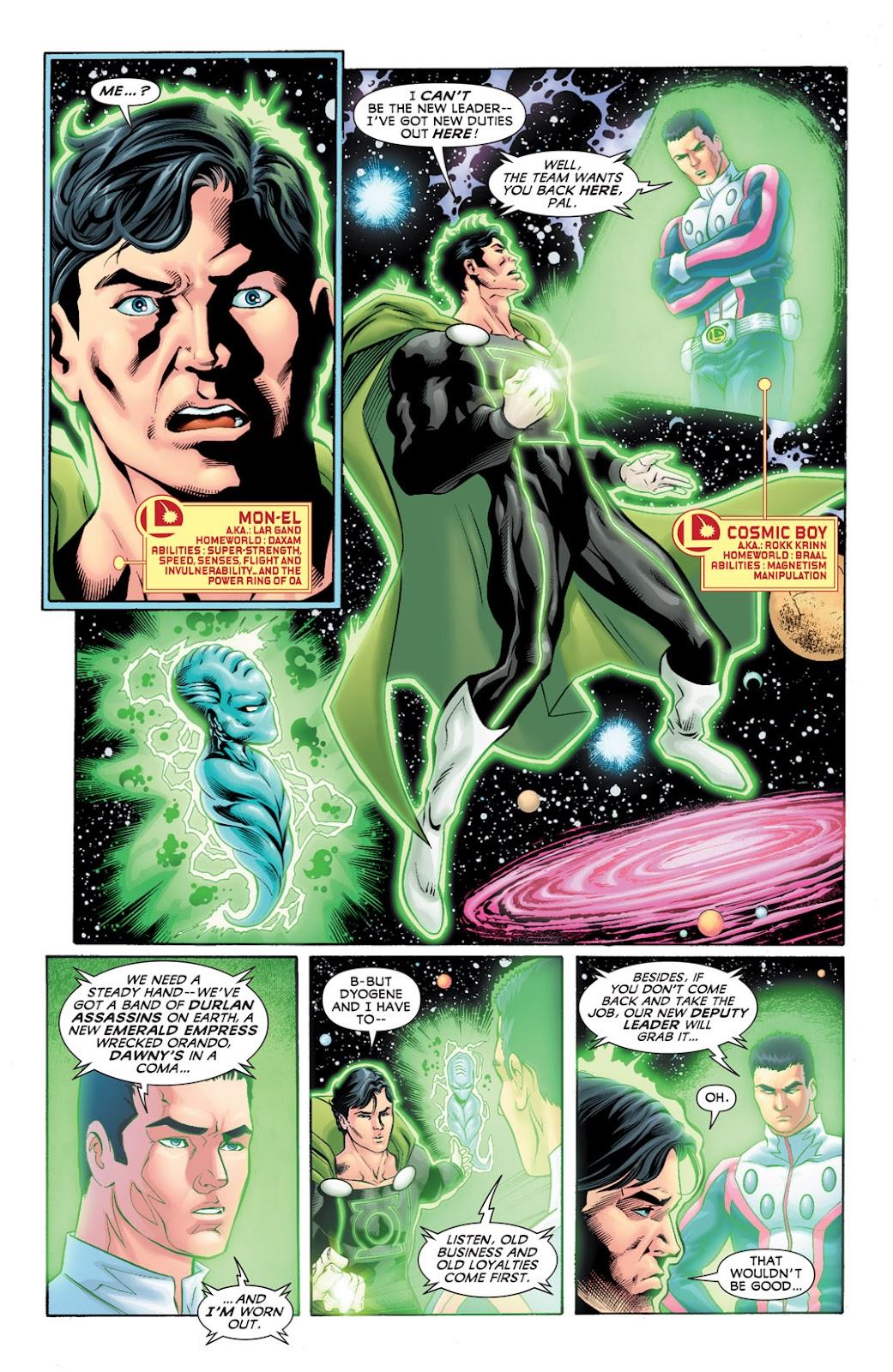 Legion of Super-Heroes (2010) Issue #10 #11 - English 5