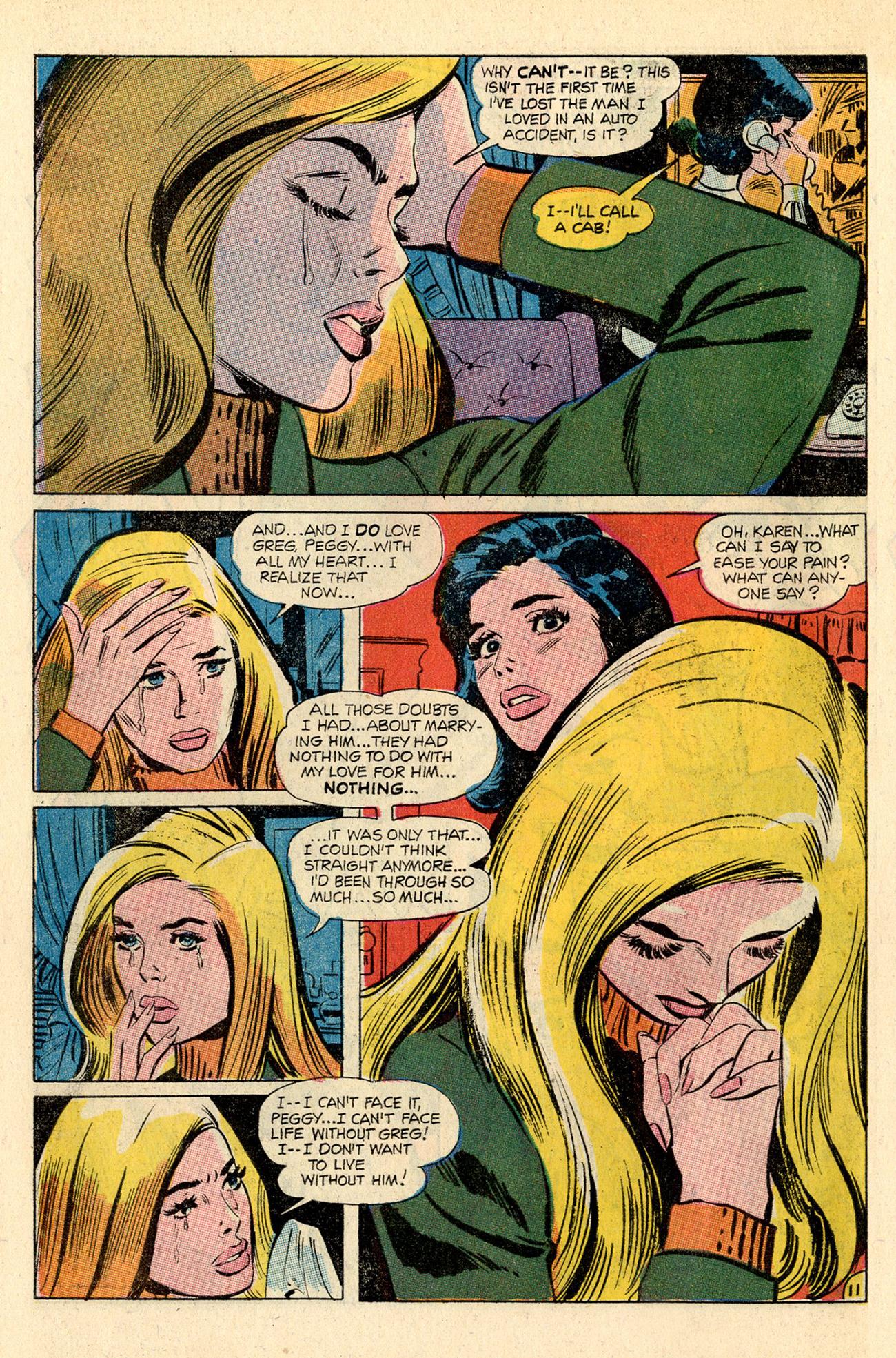 Read online Secret Hearts comic -  Issue #138 - 30