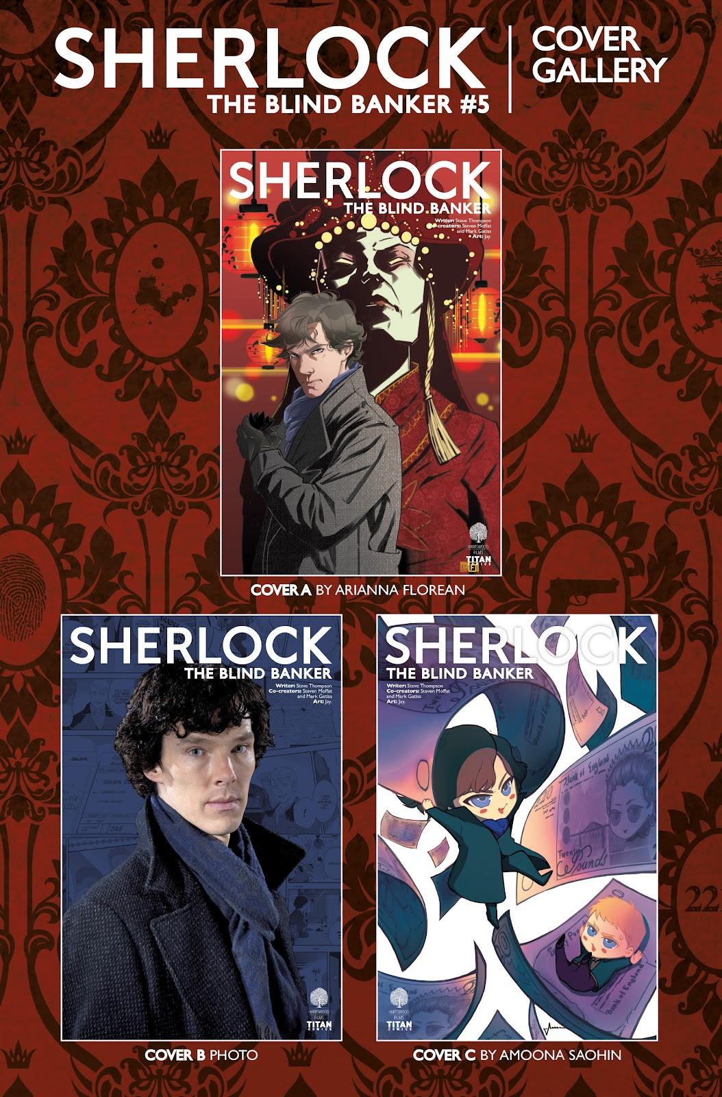 Sherlock: The Blind Banker Issue #5 #5 - English 40