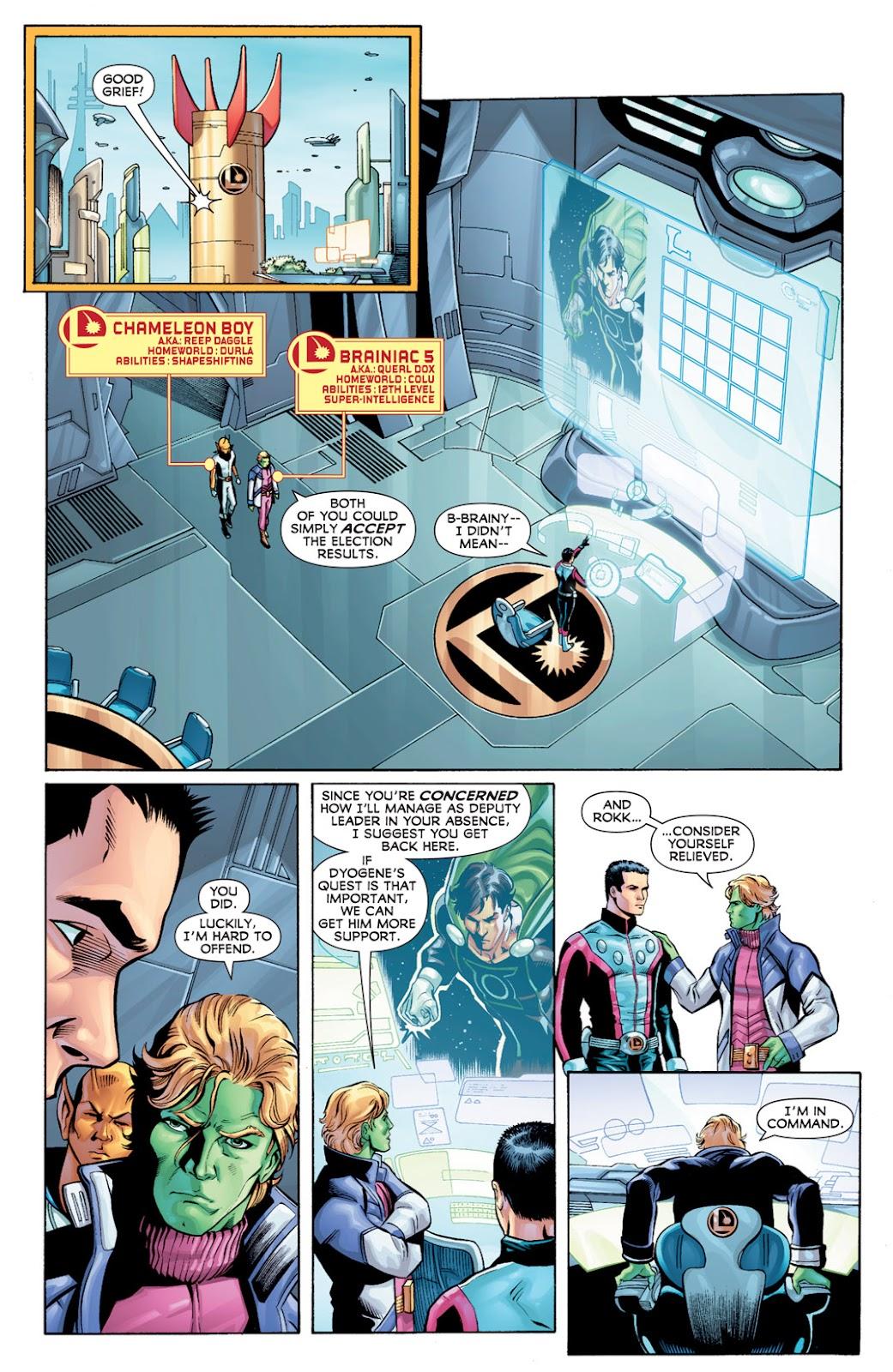 Legion of Super-Heroes (2010) Issue #10 #11 - English 6