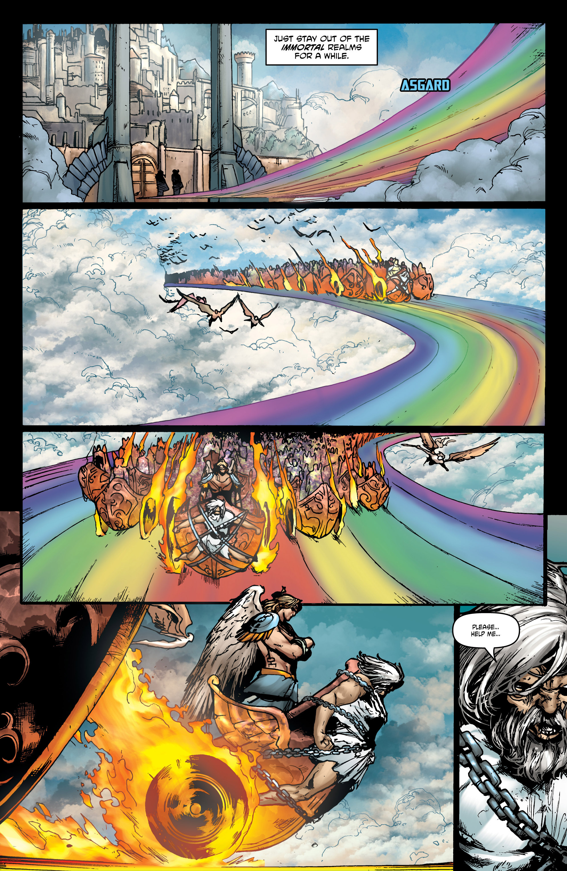 Read online God Is Dead comic -  Issue #44 - 10
