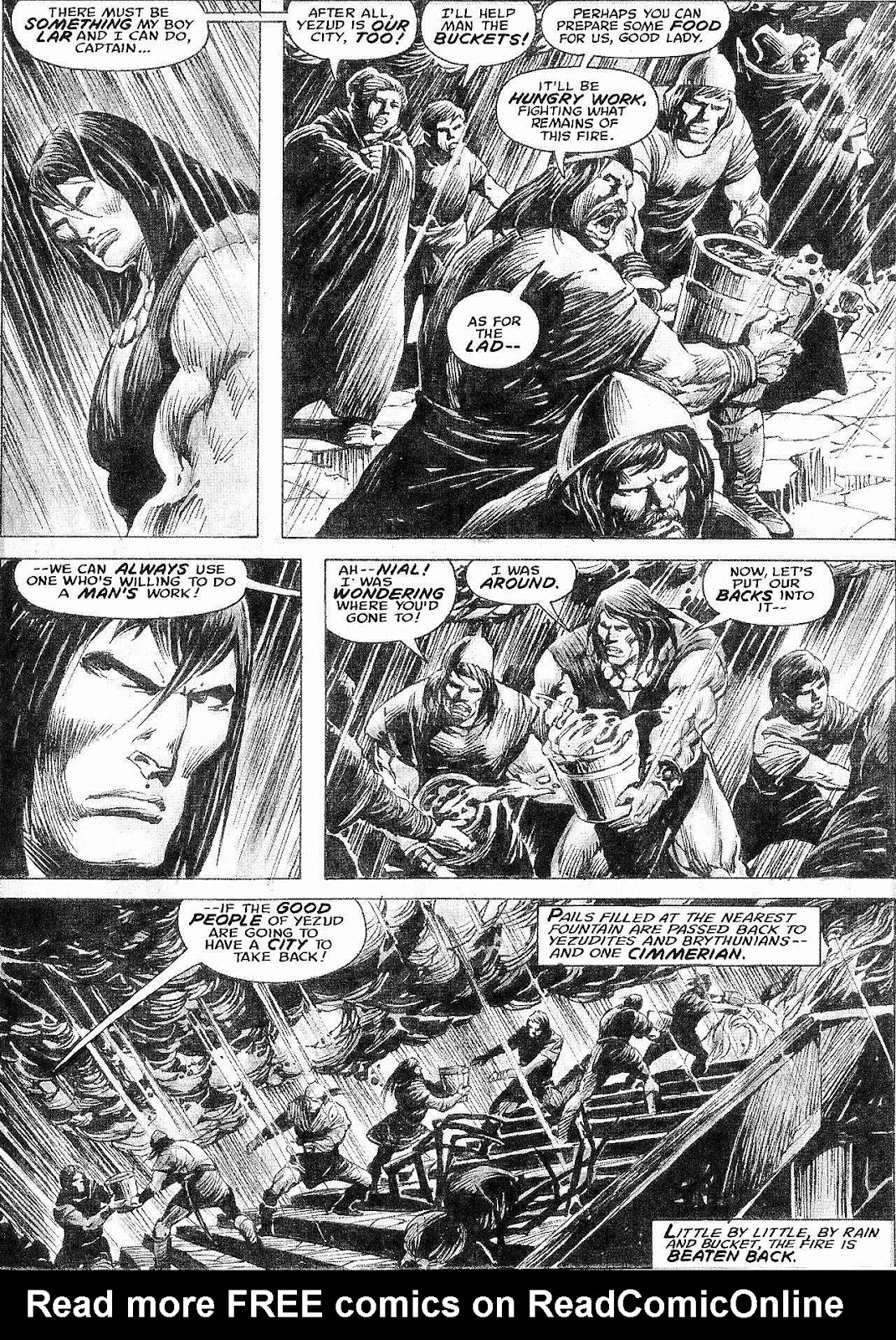 The Savage Sword Of Conan Issue #210 #211 - English 42