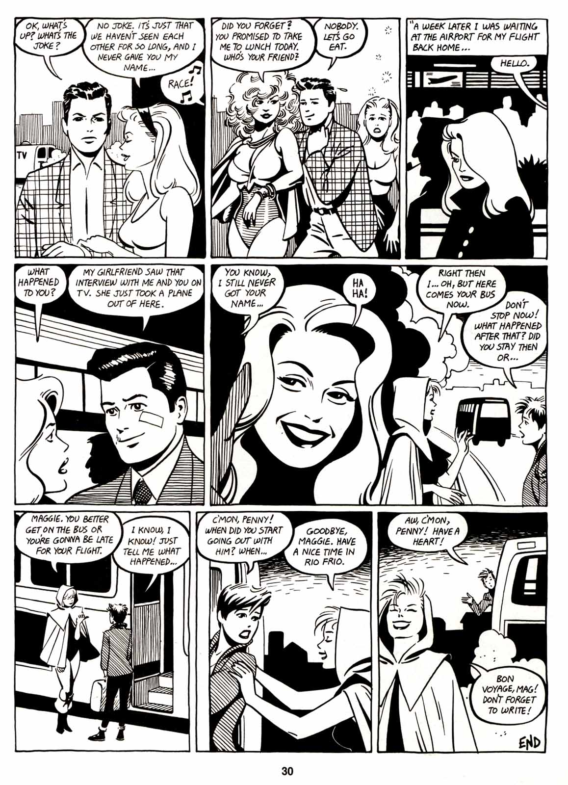 Love and Rockets (1982) Issue #6 #5 - English 32