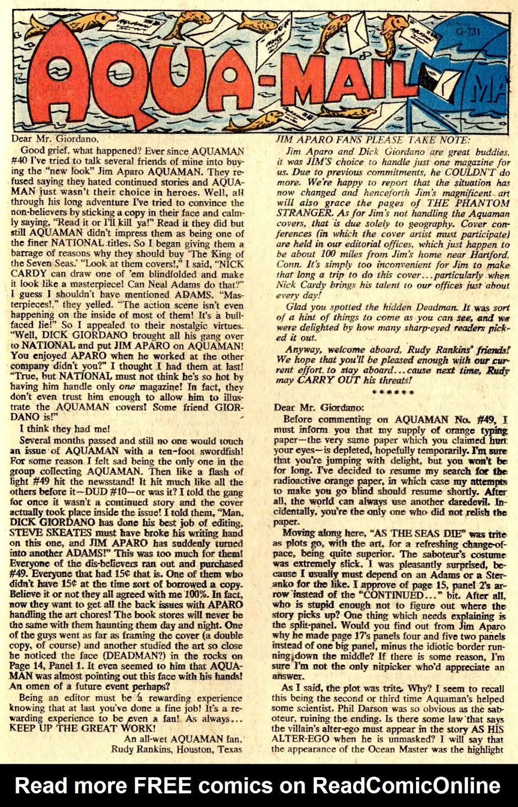 Aquaman (1962) Issue #51 #51 - English 21