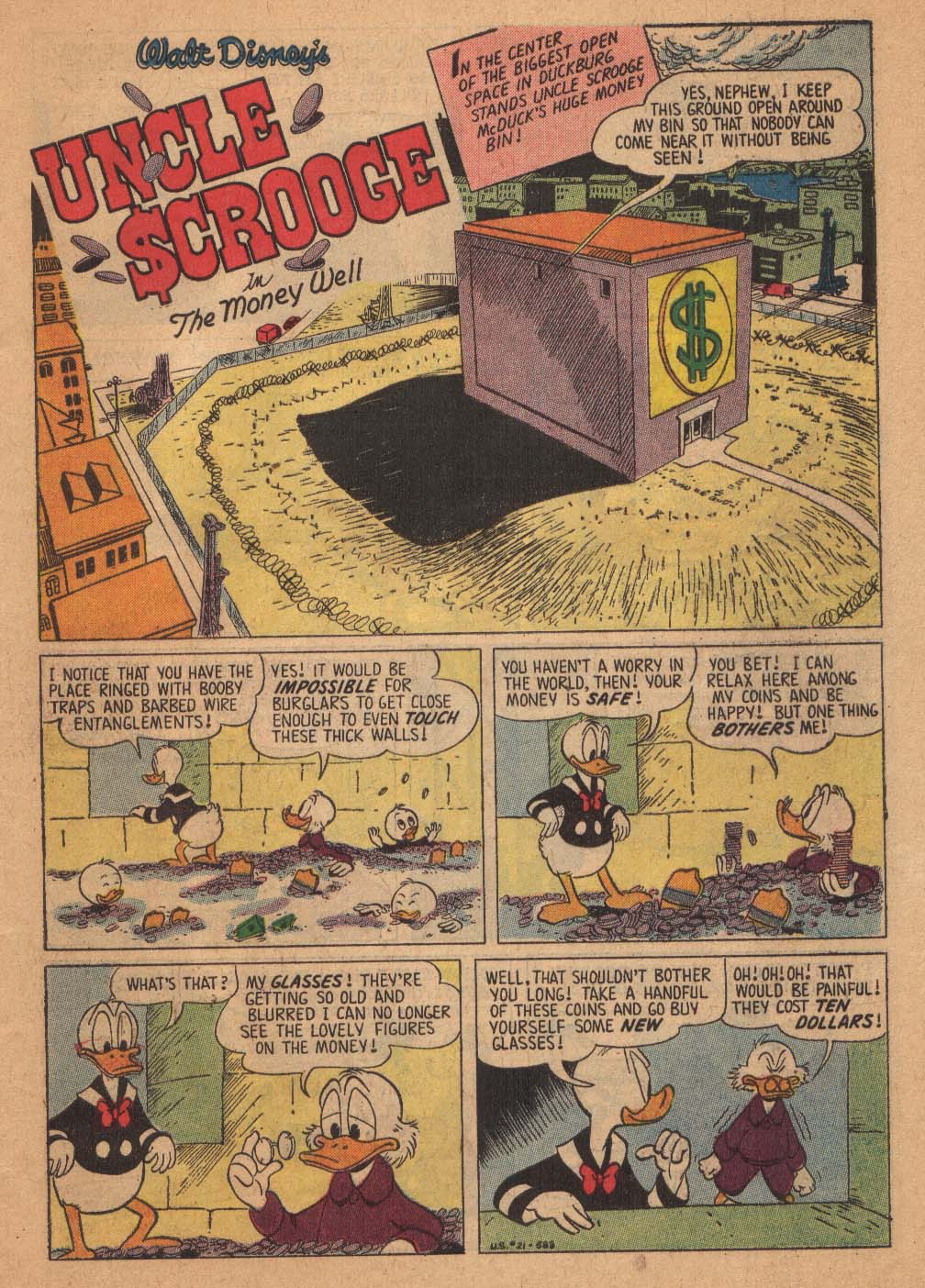 Uncle Scrooge (1953) #21 #384 - English 3