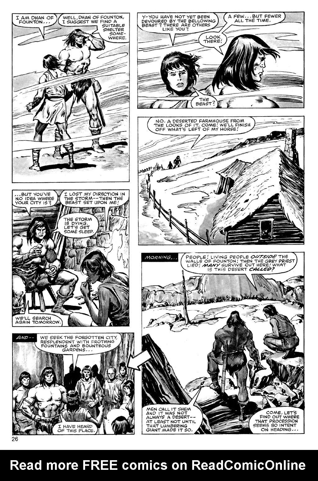 The Savage Sword Of Conan Issue #72 #73 - English 26