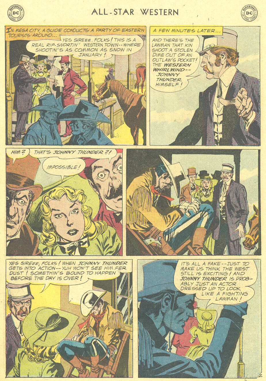 Read online All-Star Western (1951) comic -  Issue #105 - 26