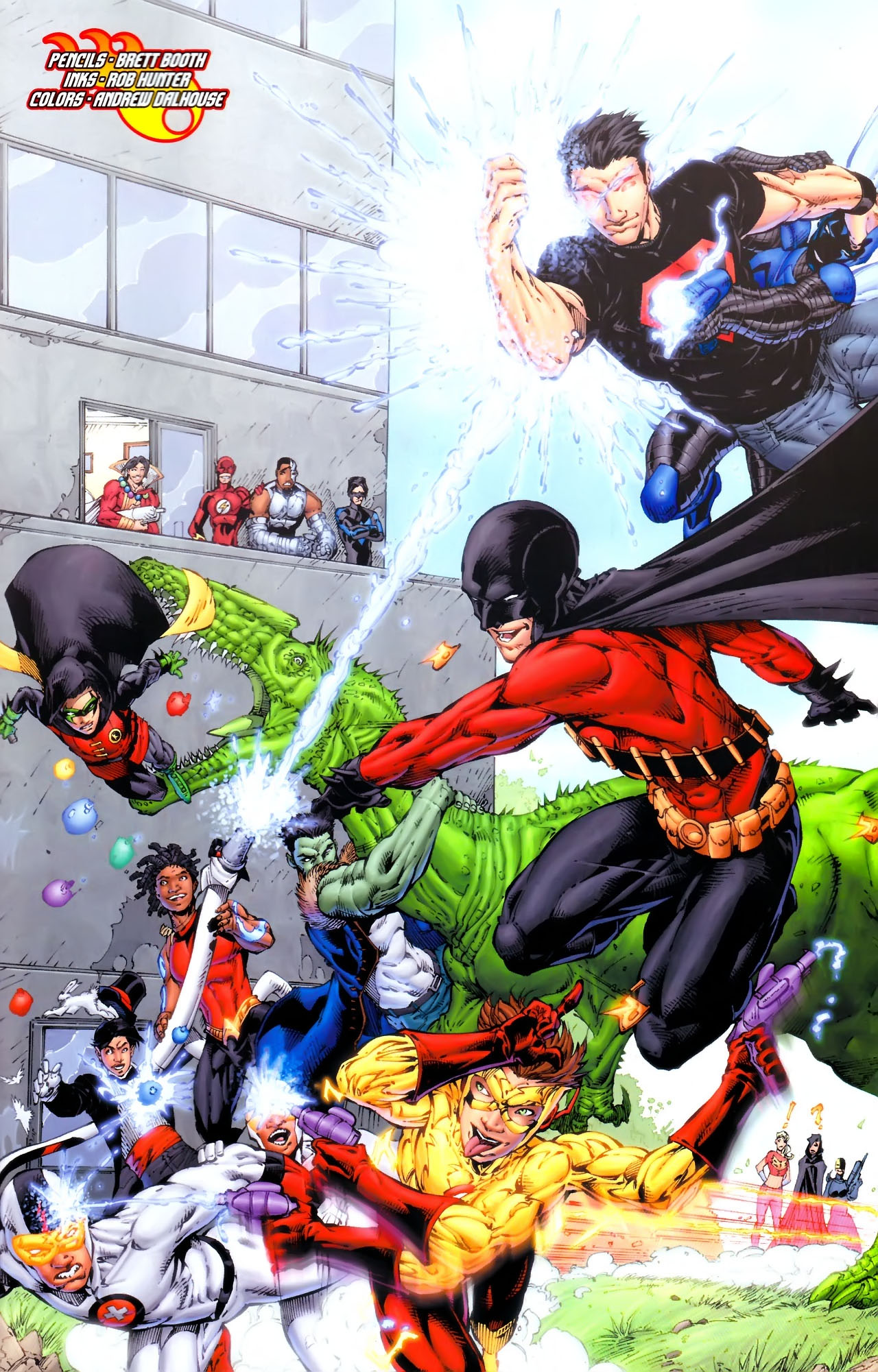 Teen Titans (2003) #100 #110 - English 36