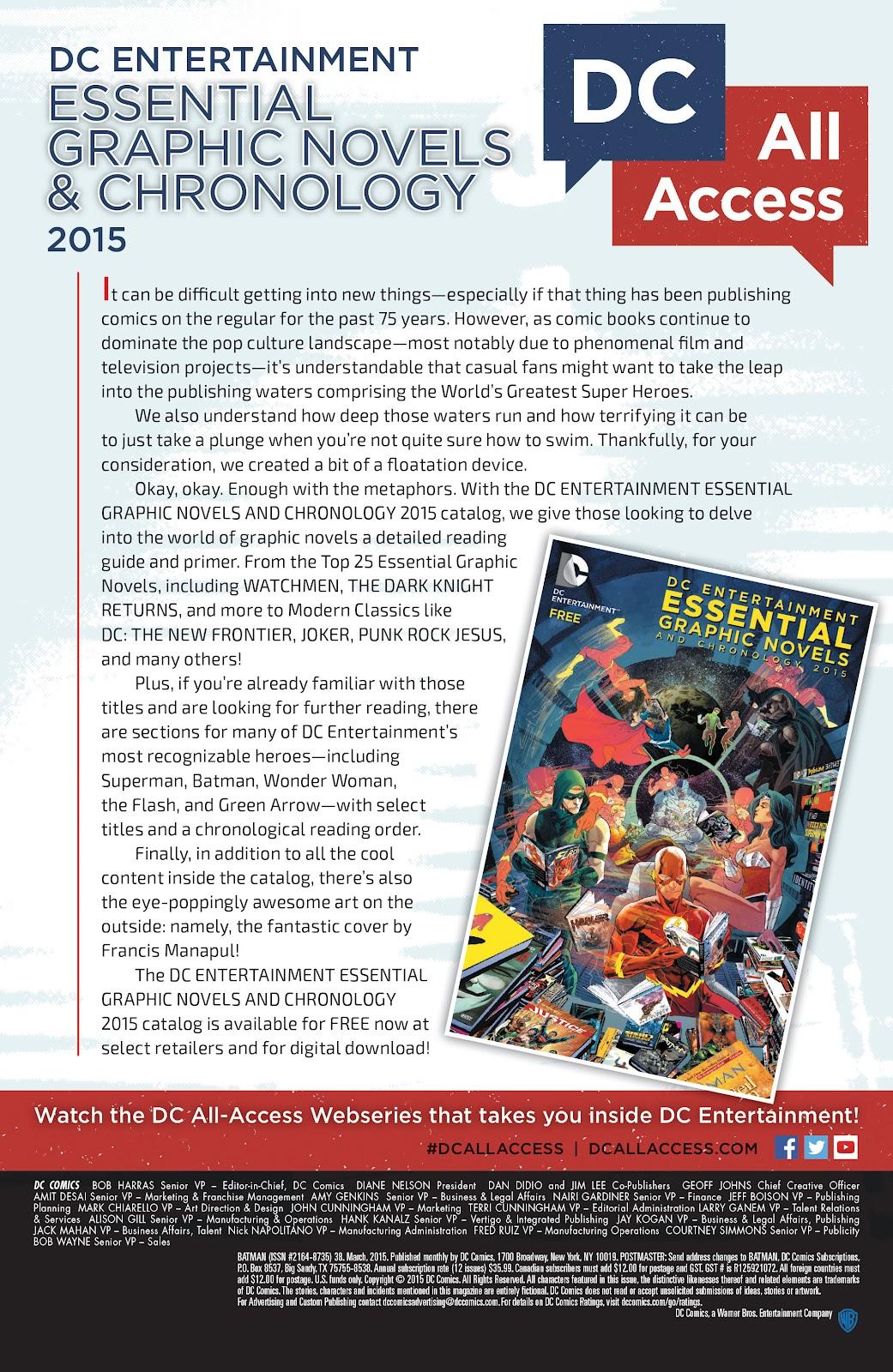 Batman (2011) Issue #38 #57 - English 32