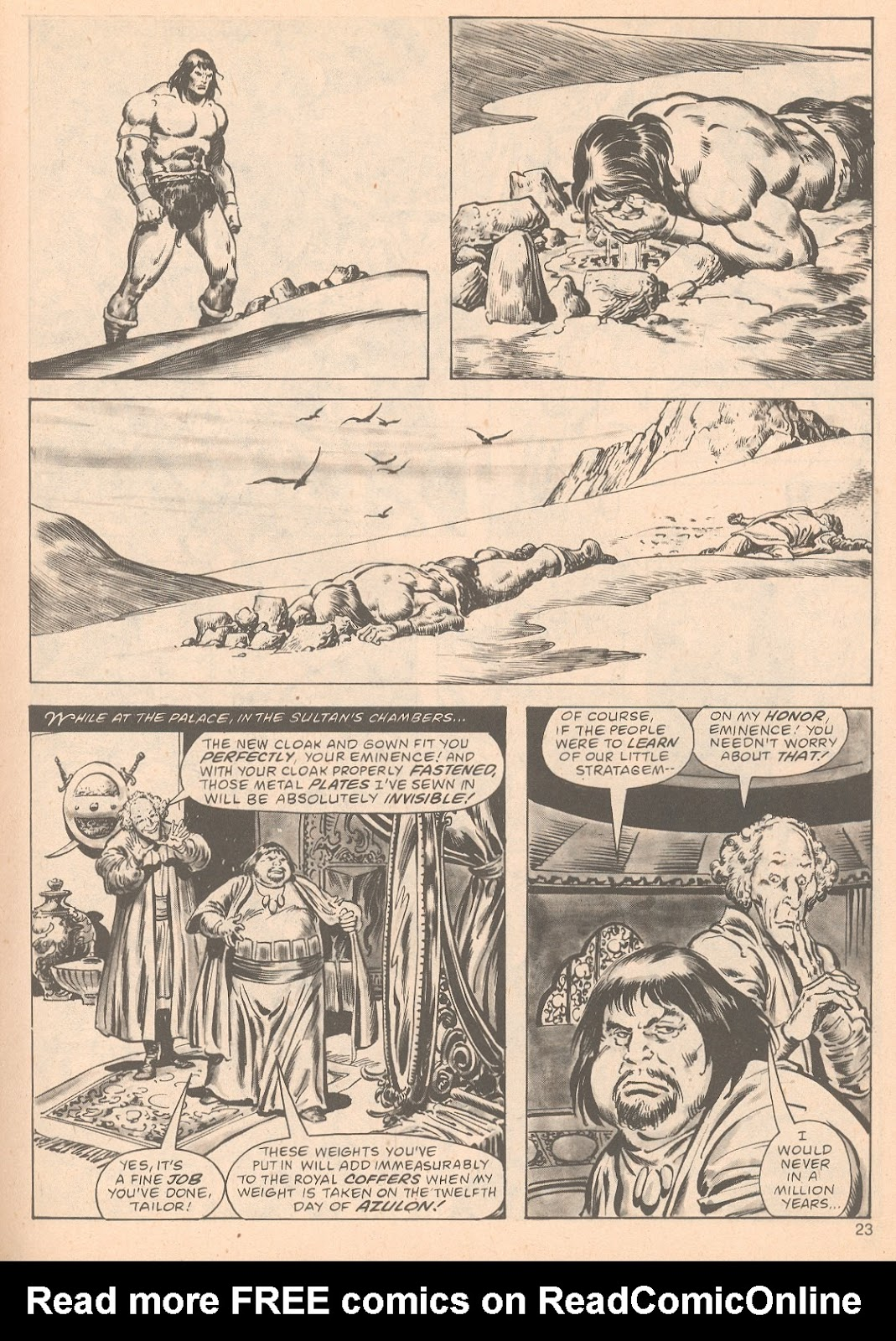 The Savage Sword Of Conan Issue #63 #64 - English 23