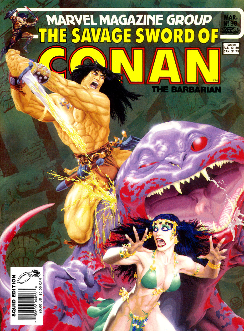 The Savage Sword Of Conan Issue #98 #99 - English 1