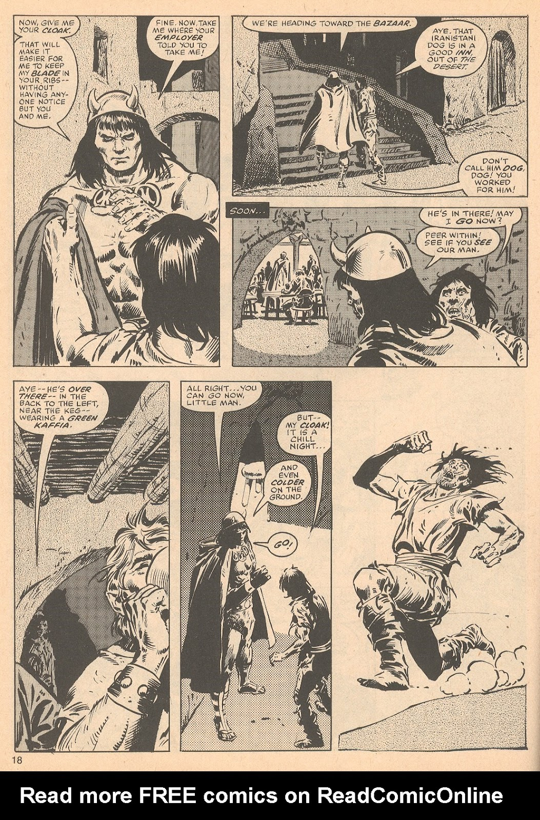 The Savage Sword Of Conan Issue #56 #57 - English 18