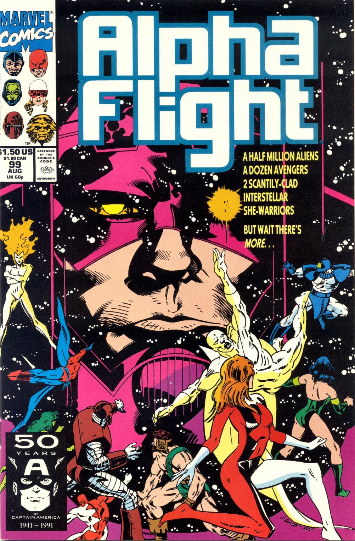 Alpha Flight (1983) 99 Page 1