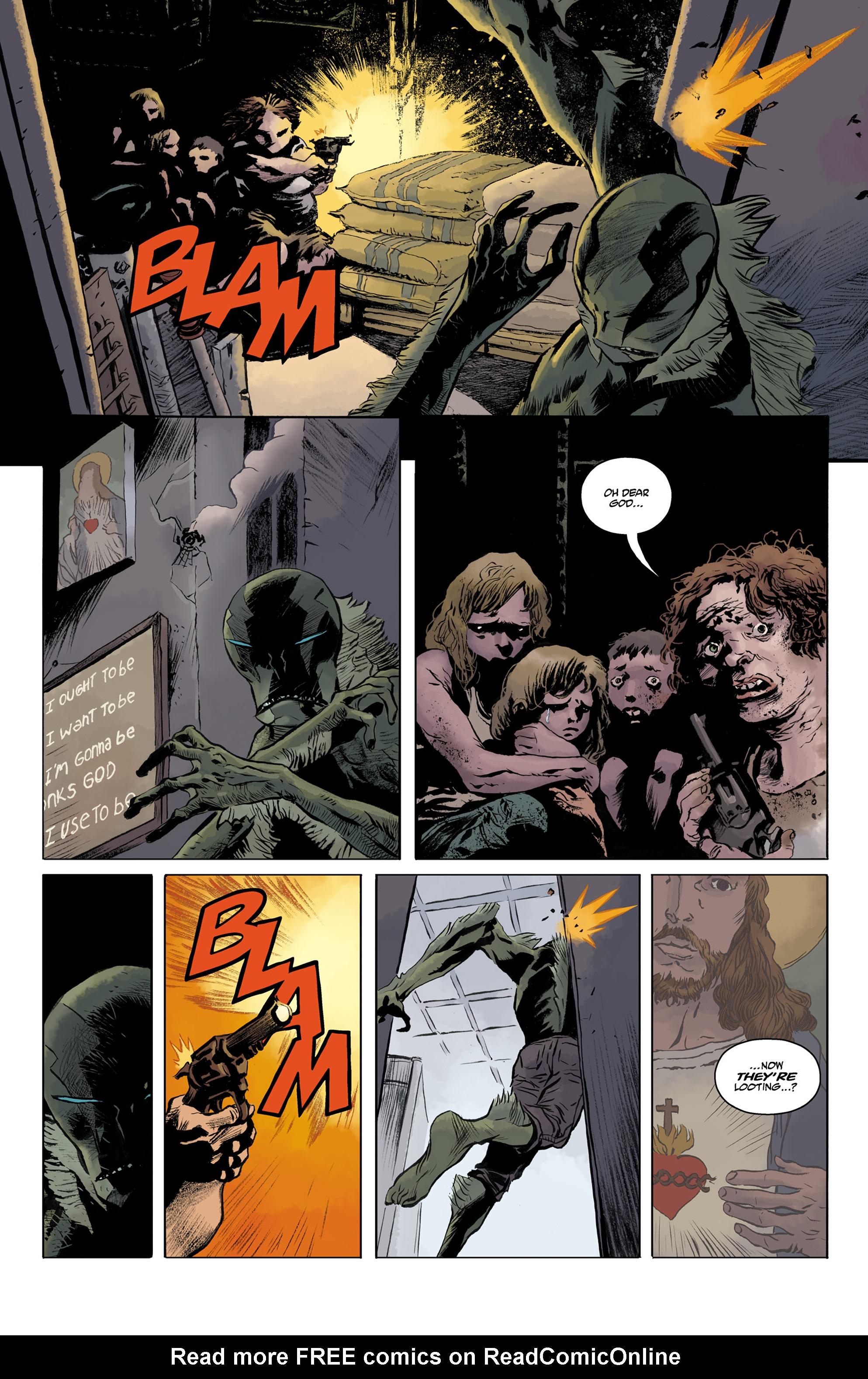 Read online Abe Sapien comic -  Issue #32 - 8