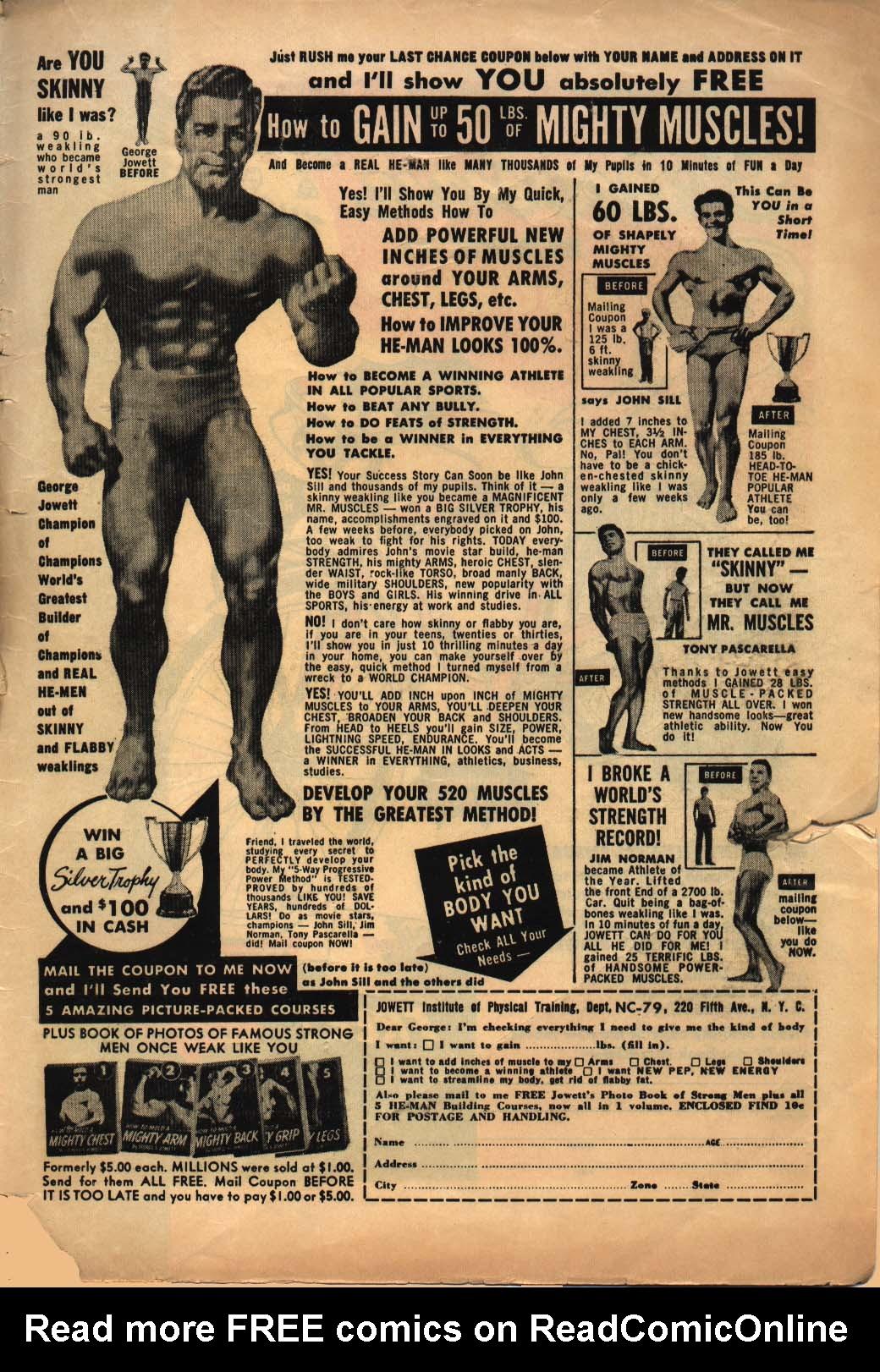 Read online Adventure Comics (1938) comic -  Issue #240 - 35