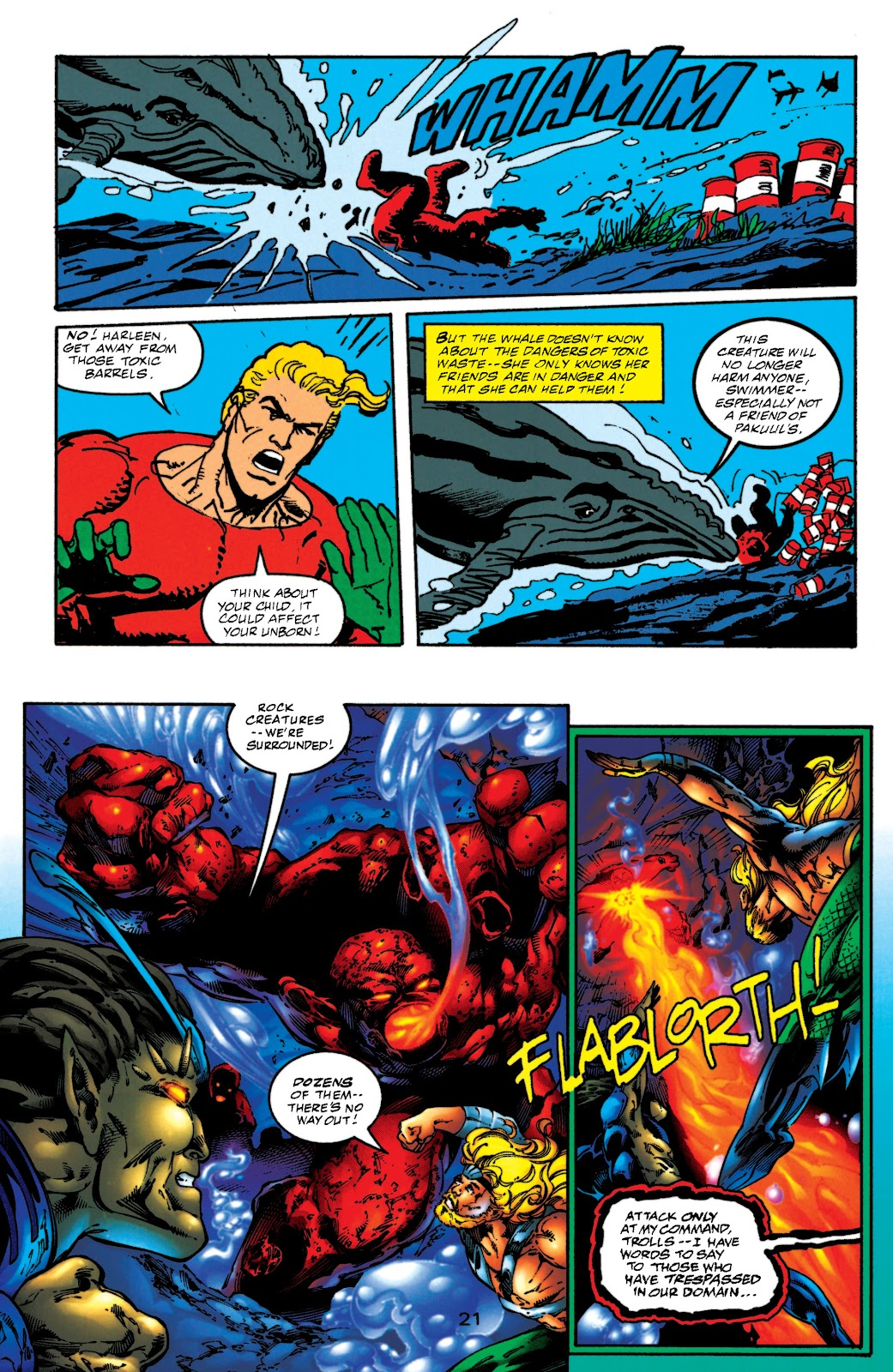 Aquaman (1994) Issue #52 #58 - English 21