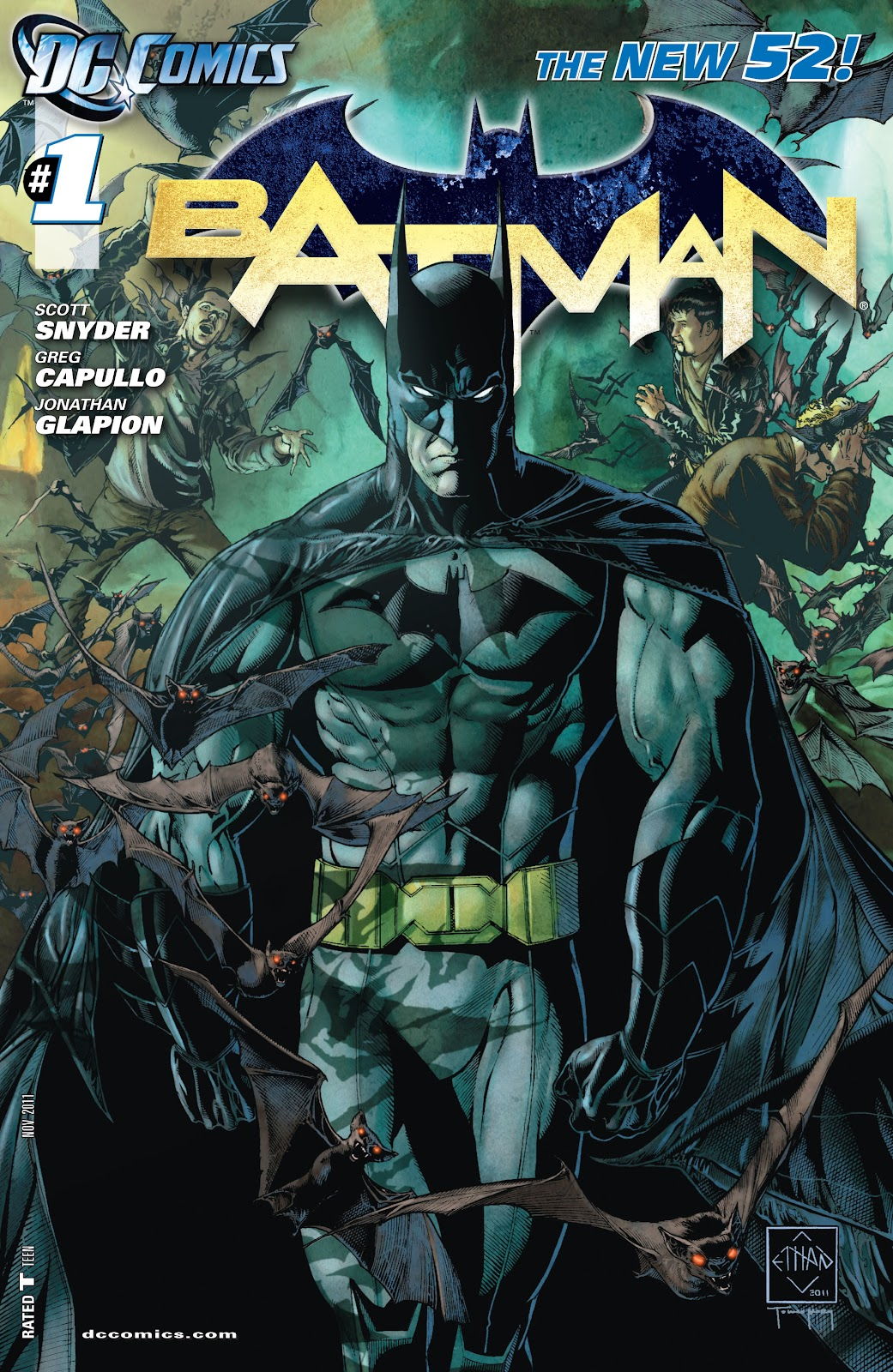 Batman (2011) Issue #1 #16 - English 24