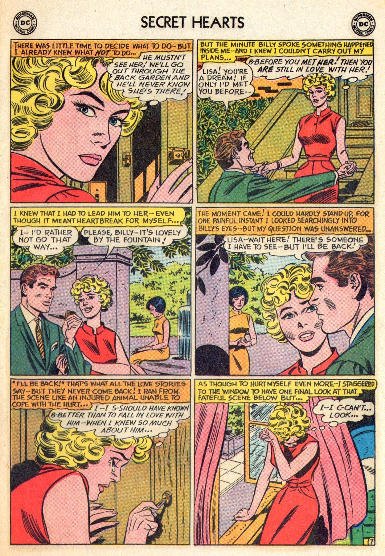 Read online Secret Hearts comic -  Issue #84 - 33