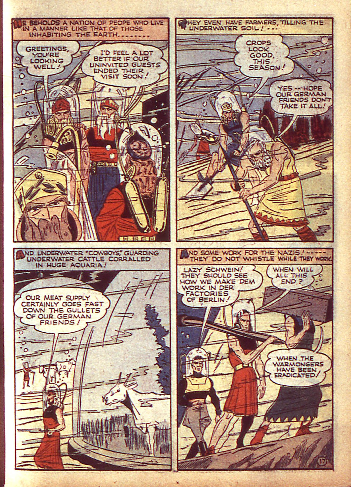 Sub-Mariner Comics Issue #3 #3 - English 20