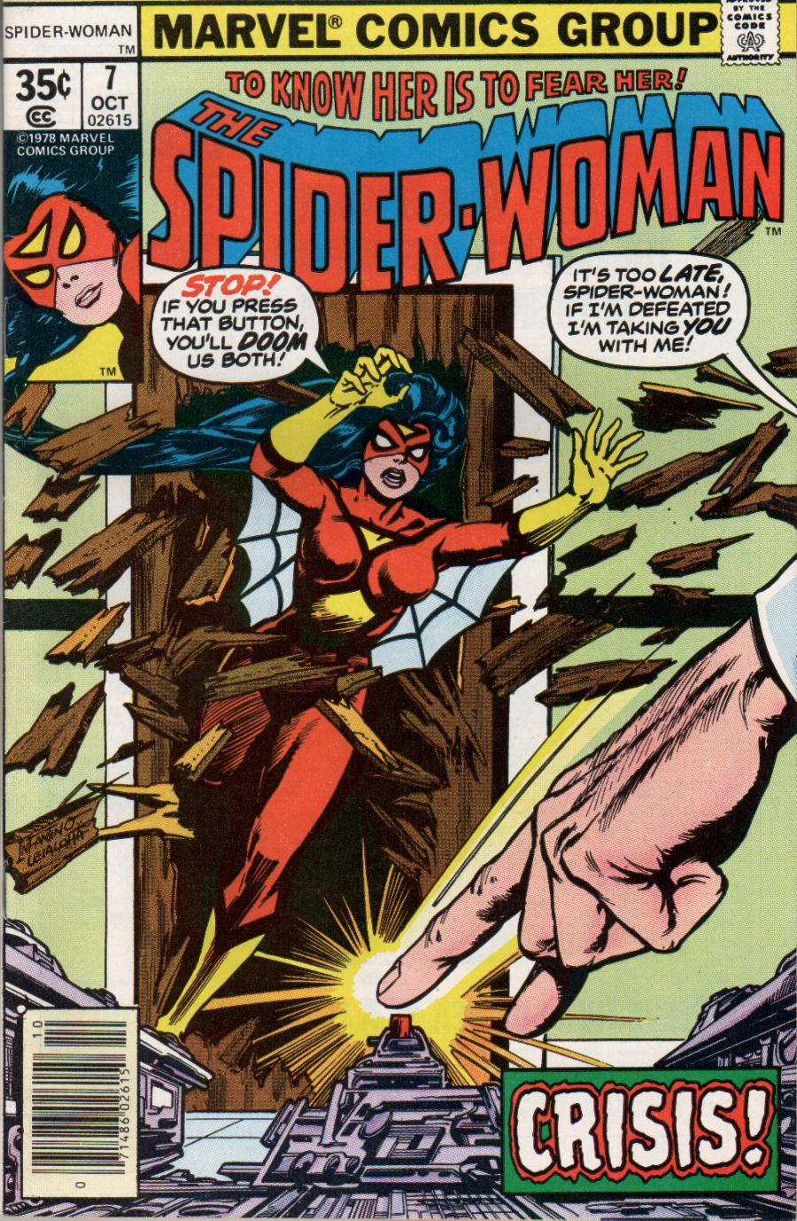 Spider-Woman (1978) Issue #7 #7 - English 1