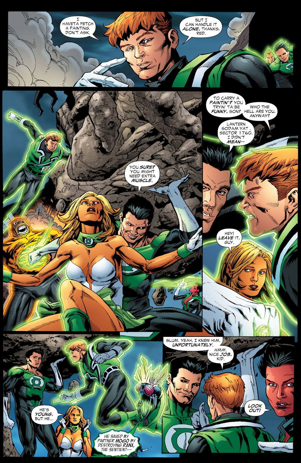 Green Lantern: The Sinestro Corps War Full #1 - English 208
