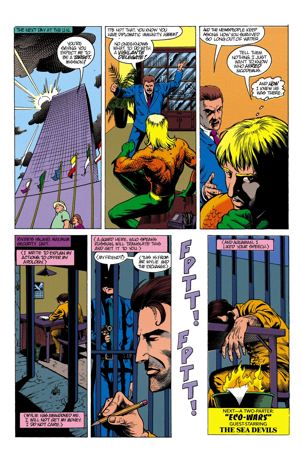 Aquaman (1991) Issue #8 #8 - English 23