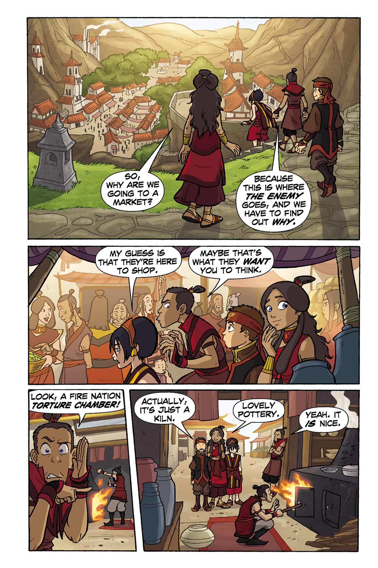 Nickelodeon Avatar: The Last Airbender - The Lost Adventures chap full pic 118