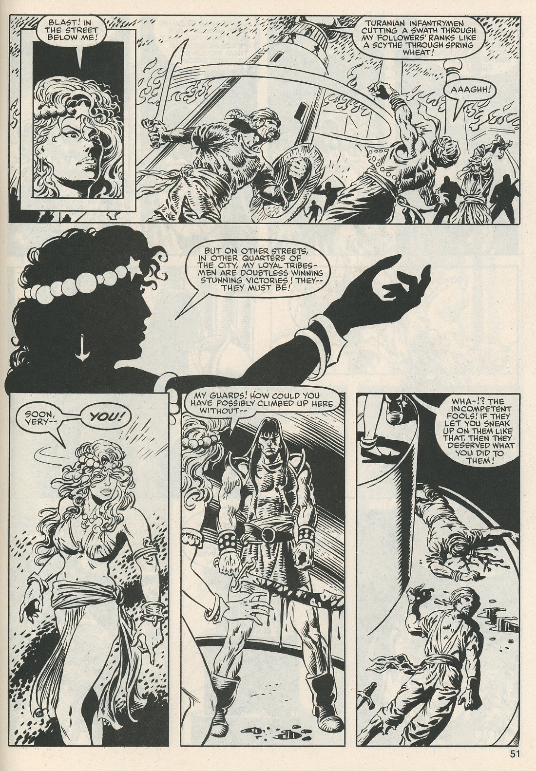 The Savage Sword Of Conan Issue #112 #113 - English 53