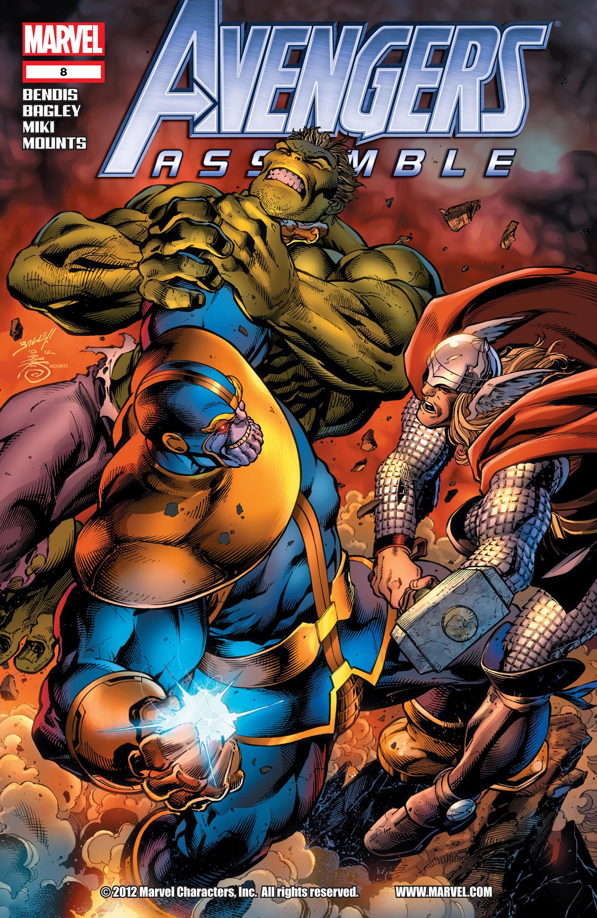 Avengers Assemble (2012) 8 Page 1