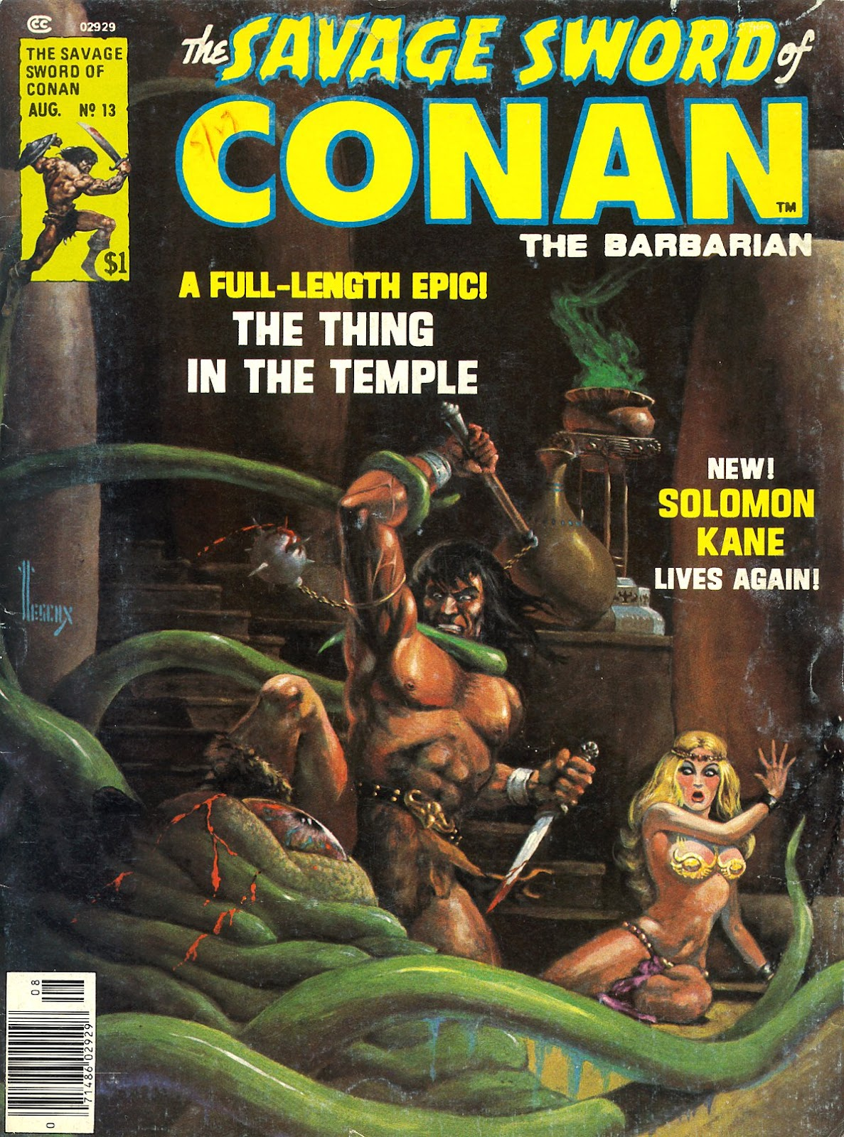The Savage Sword Of Conan Issue #13 #14 - English 1