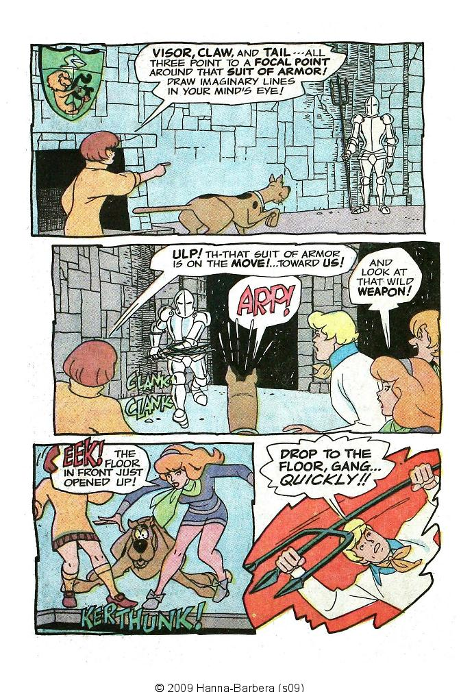 Read online Scooby-Doo... Where Are You! (1970) comic -  Issue #10 - 24