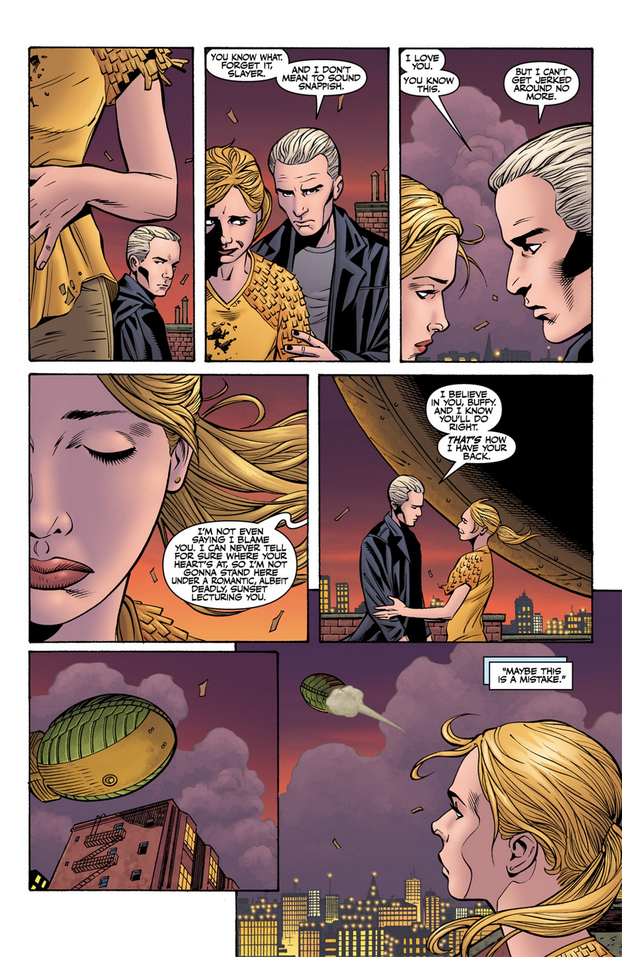 Read online Buffy the Vampire Slayer Season Nine comic -  Issue #10 - 21