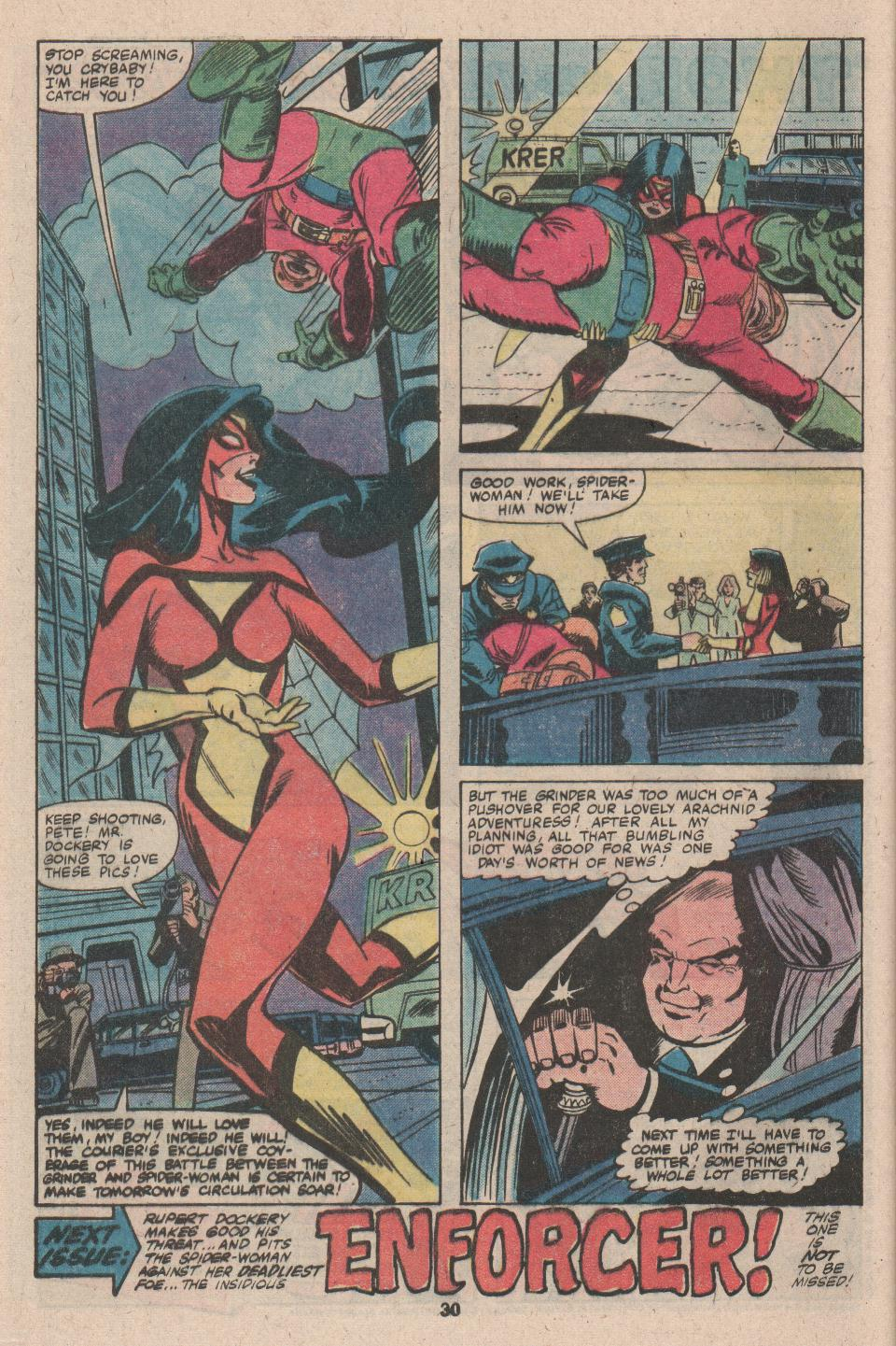 Spider-Woman (1978) Issue #26 #26 - English 18