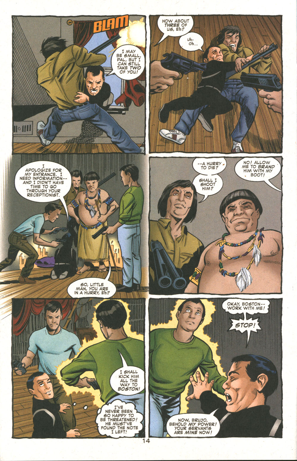 Read online Deadman: Dead Again comic -  Issue #5 - 15