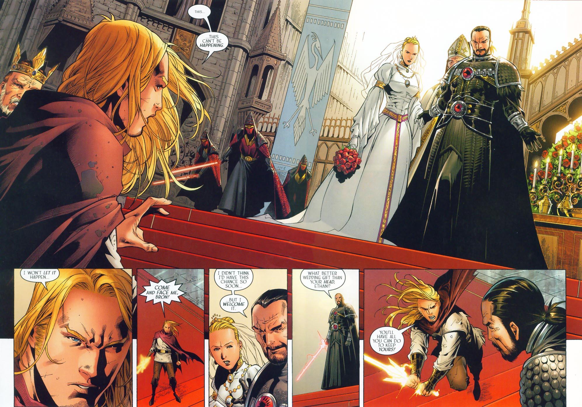 Read online Scion comic -  Issue #36 - 6