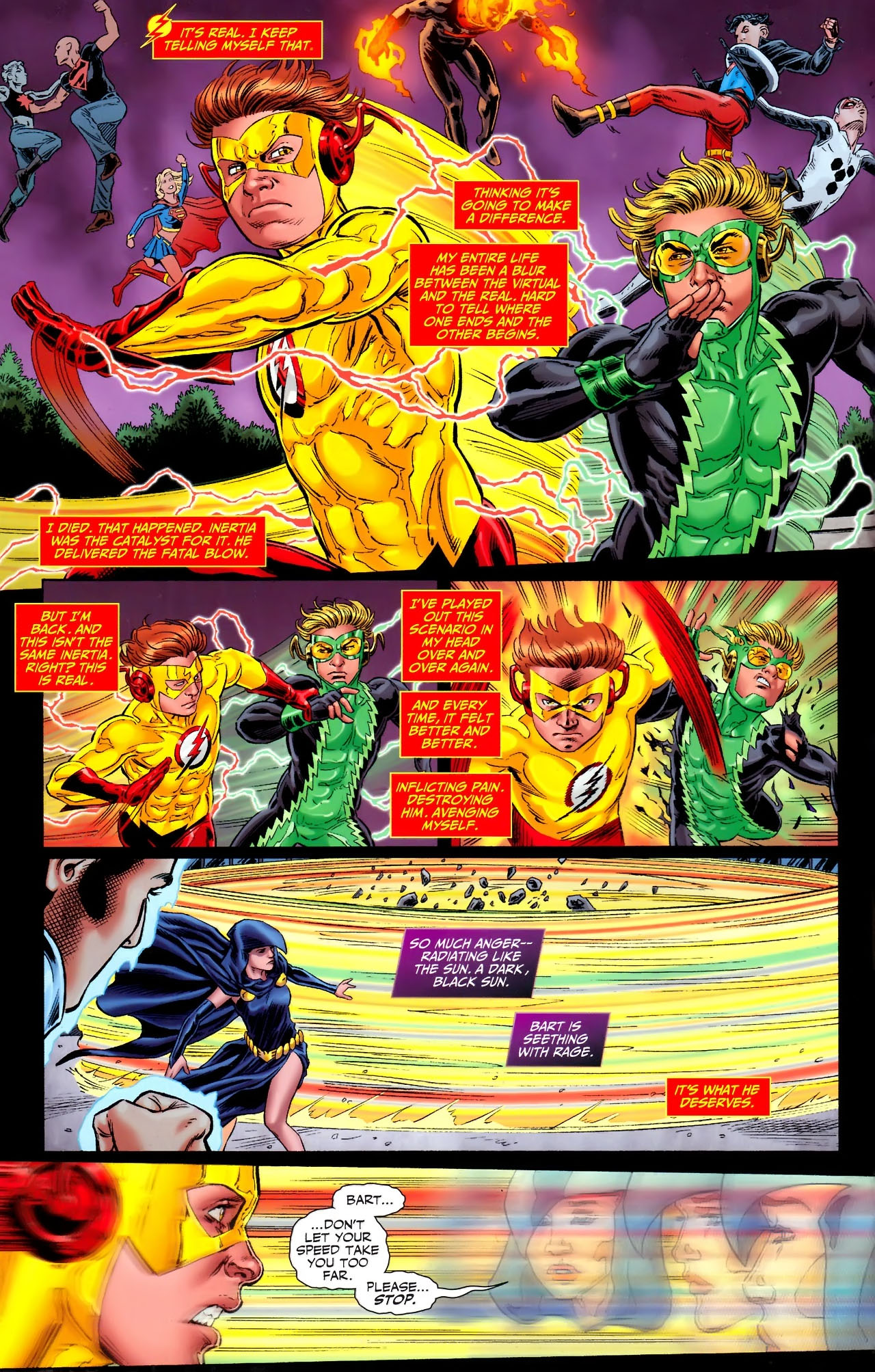 Teen Titans (2003) #100 #110 - English 11