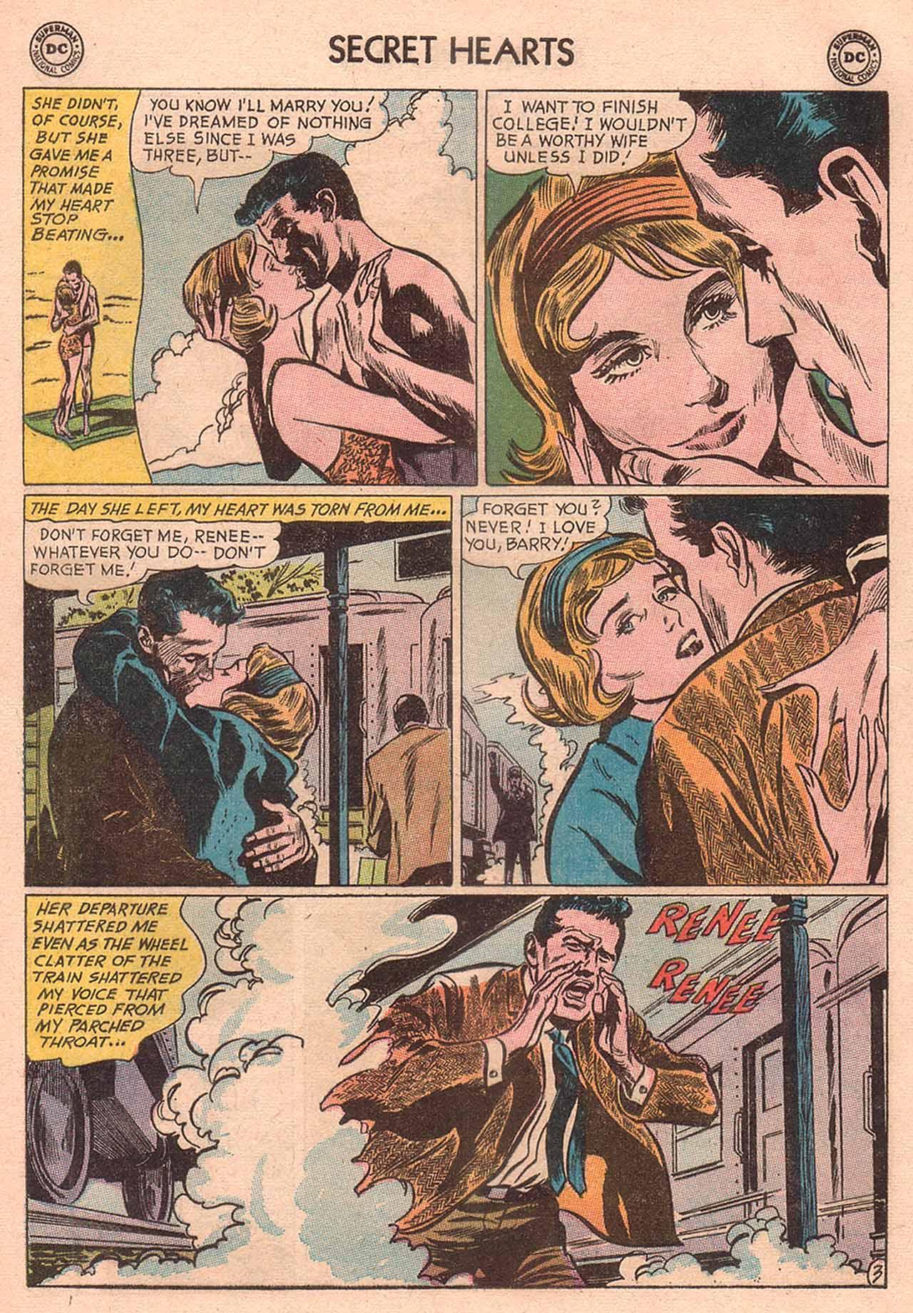Read online Secret Hearts comic -  Issue #94 - 20