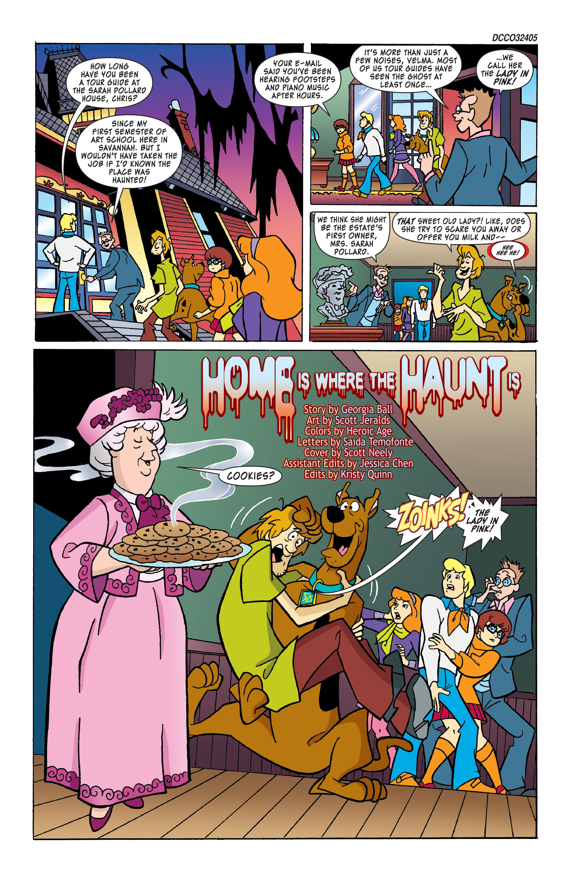 Read online Scooby-Doo: Where Are You? comic -  Issue #53 - 2