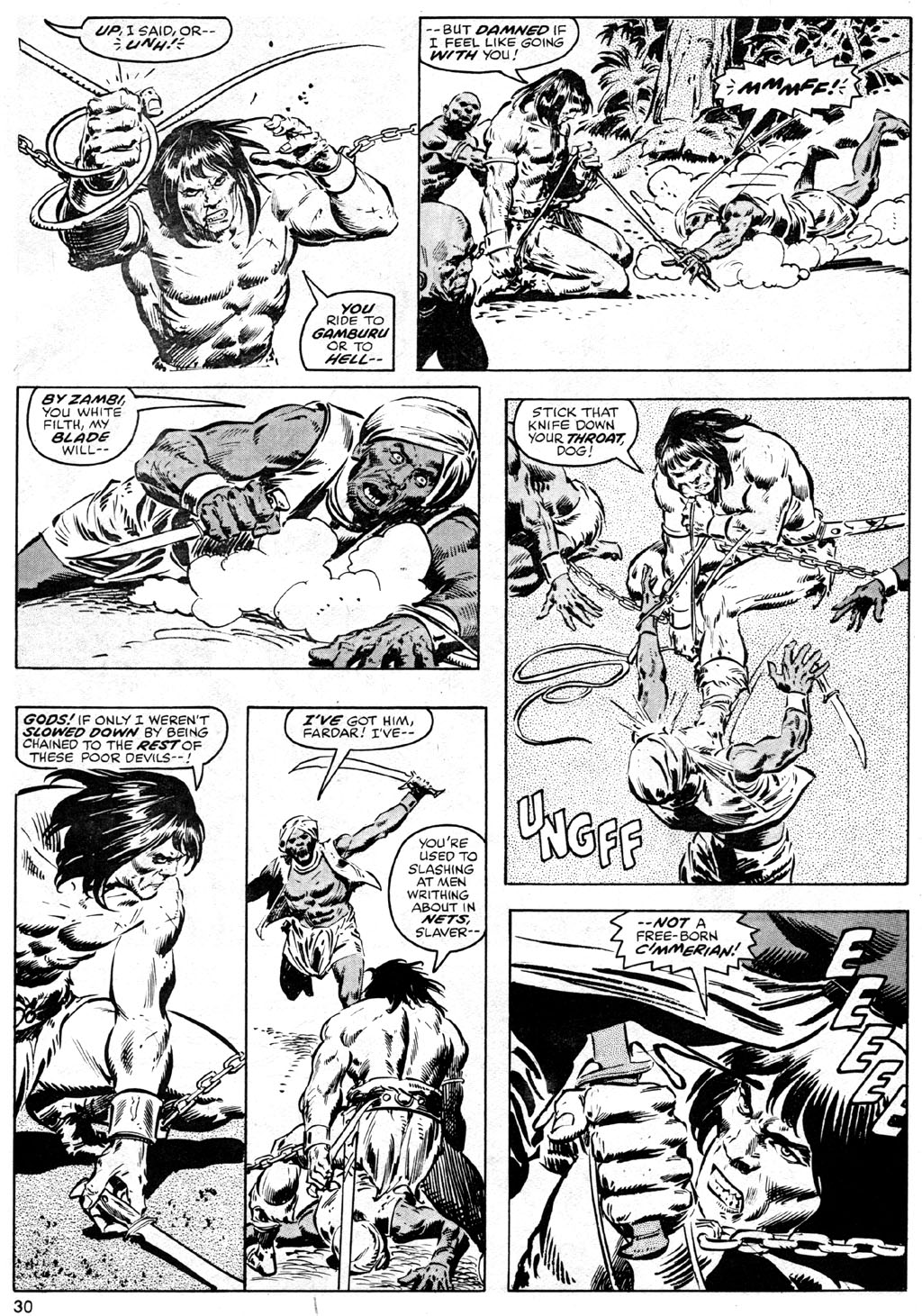 The Savage Sword Of Conan Issue #41 #42 - English 30