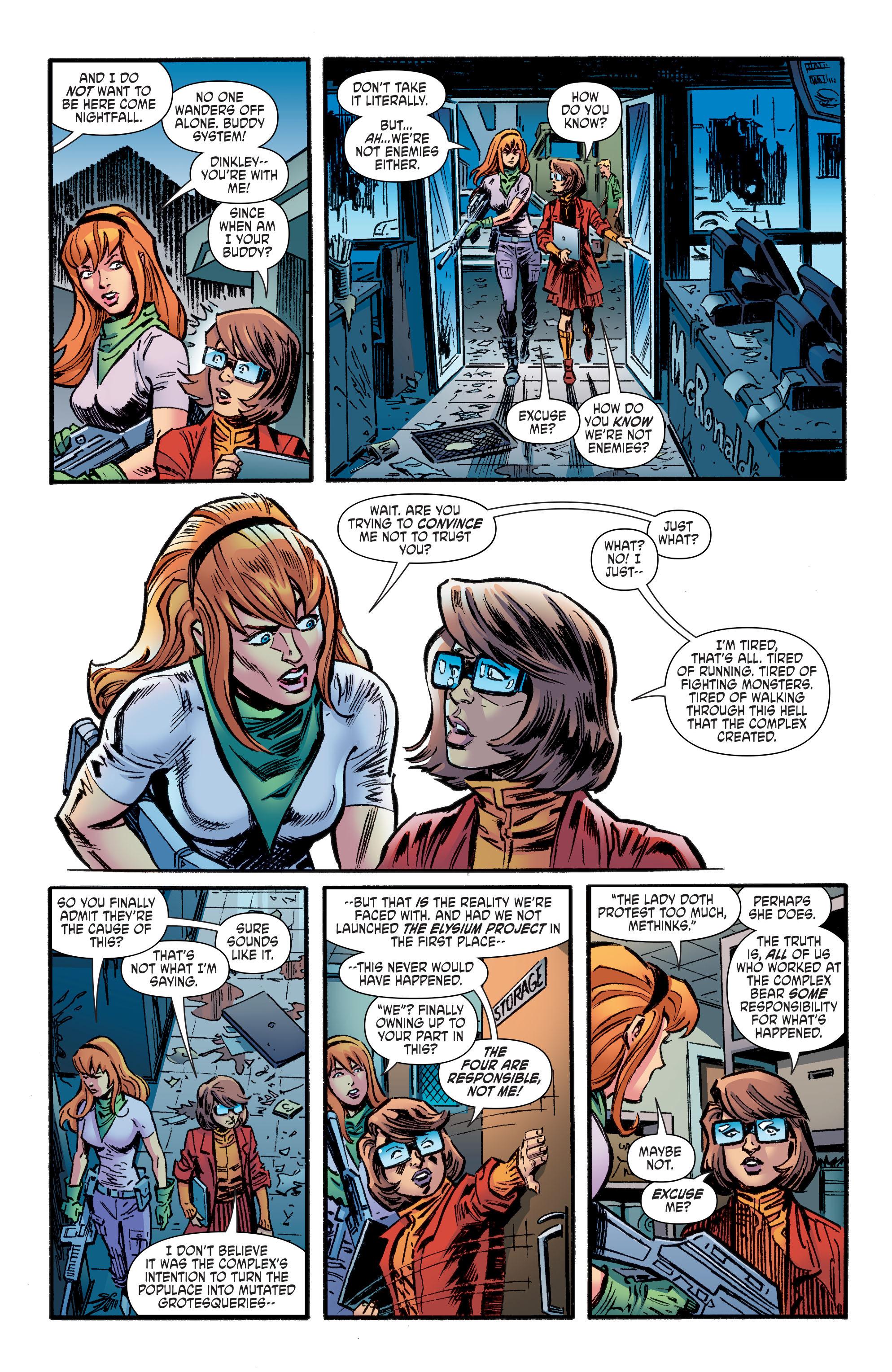 Read online Scooby Apocalypse comic -  Issue #9 - 11