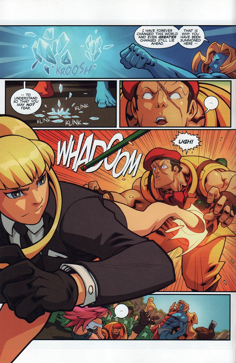 Street Fighter Unlimited Issue #7 #9 - English 8