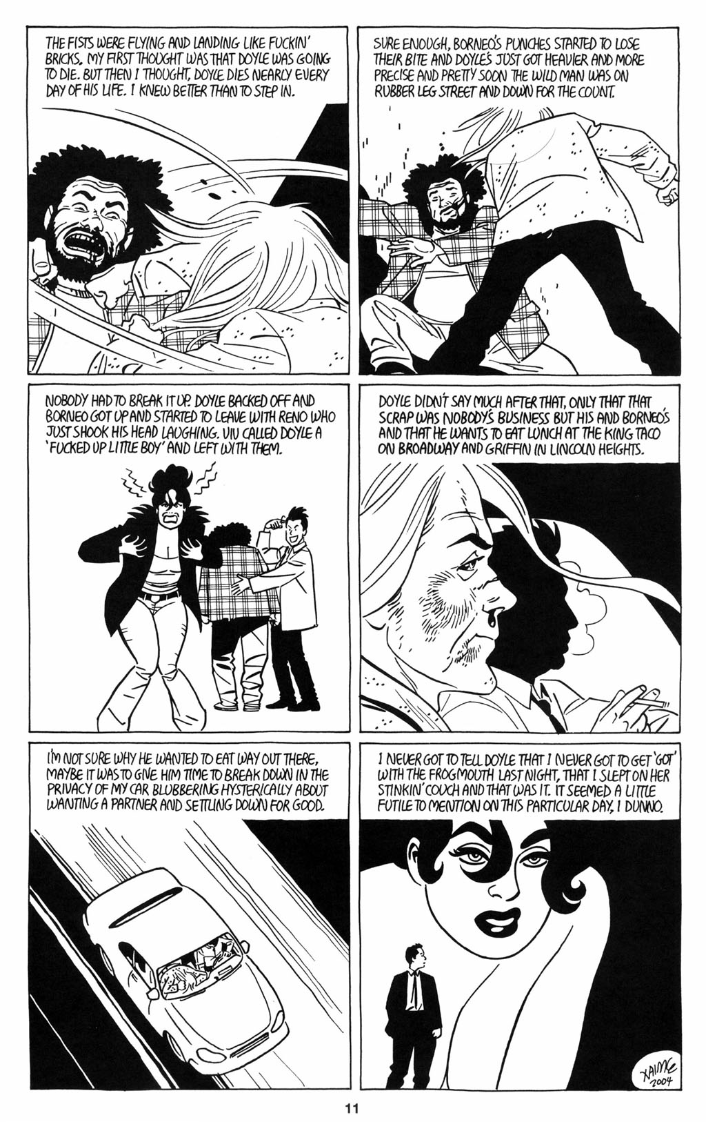 Read online Love and Rockets (2001) comic -  Issue #12 - 12