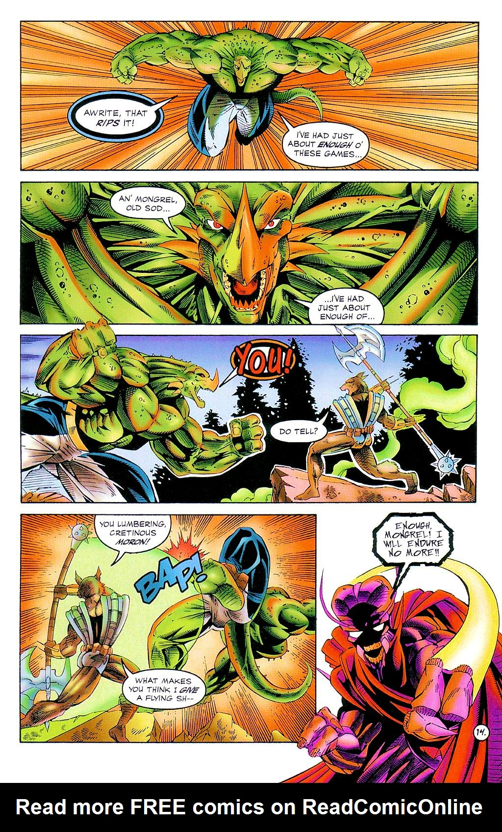 Read online The Others comic -  Issue #2 - 15