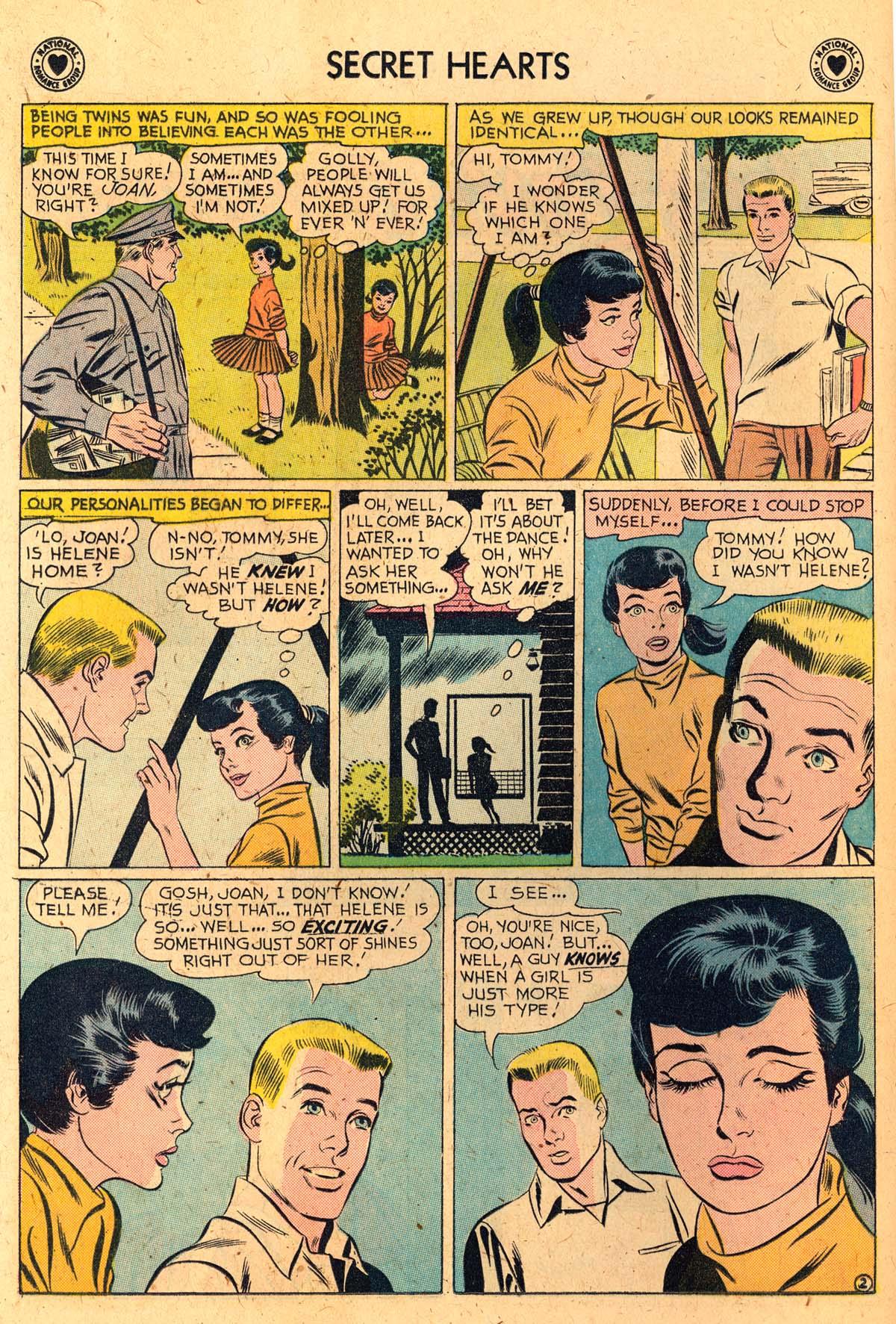 Read online Secret Hearts comic -  Issue #52 - 20