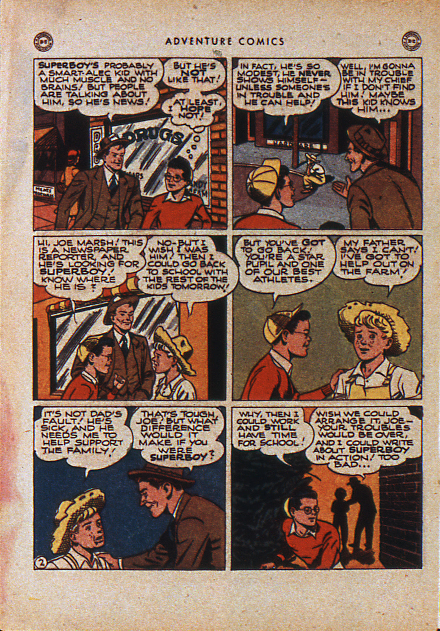 Read online Adventure Comics (1938) comic -  Issue #110 - 5