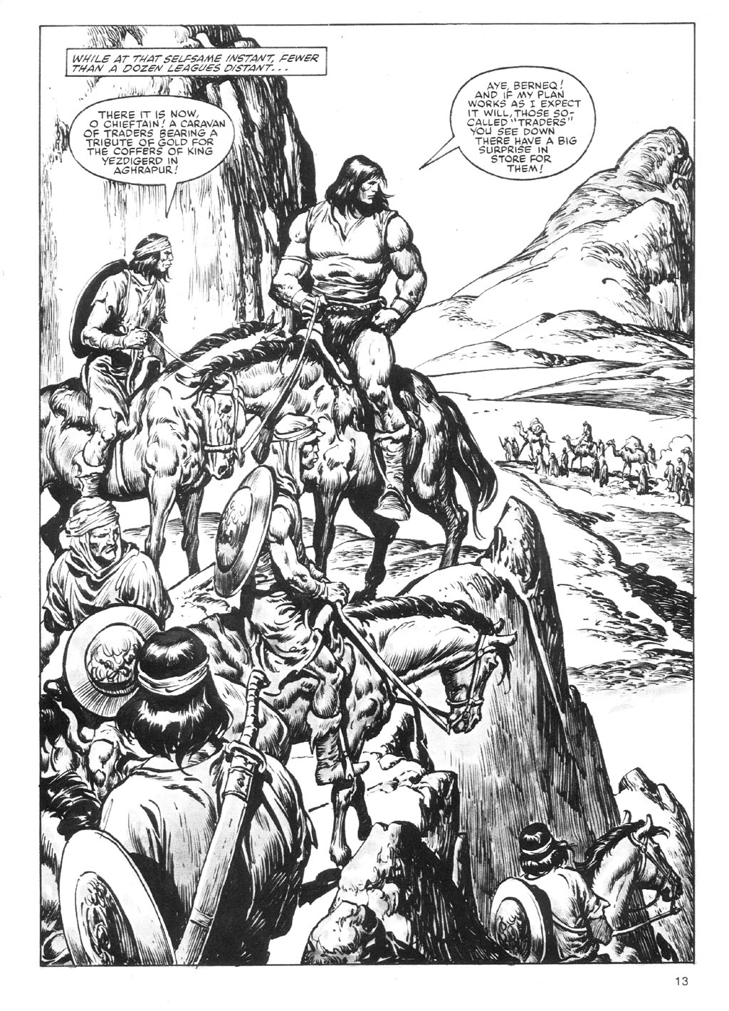 The Savage Sword Of Conan Issue #87 #88 - English 13