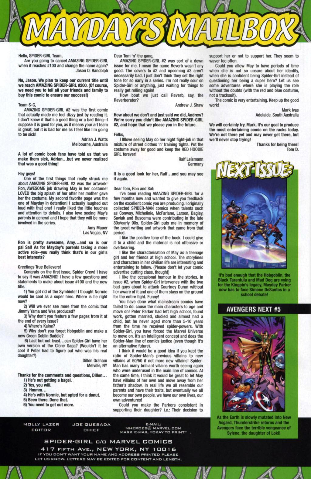 Amazing Spider-Girl Issue #4 #5 - English 22