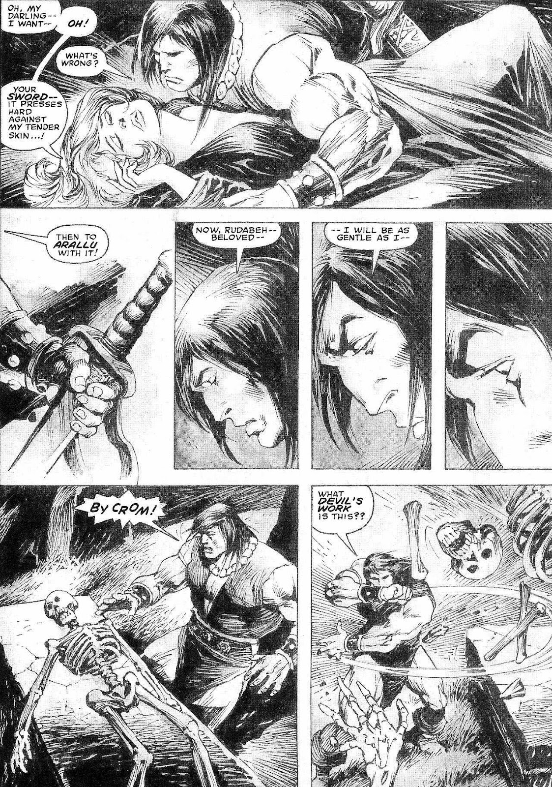 The Savage Sword Of Conan Issue #210 #211 - English 6